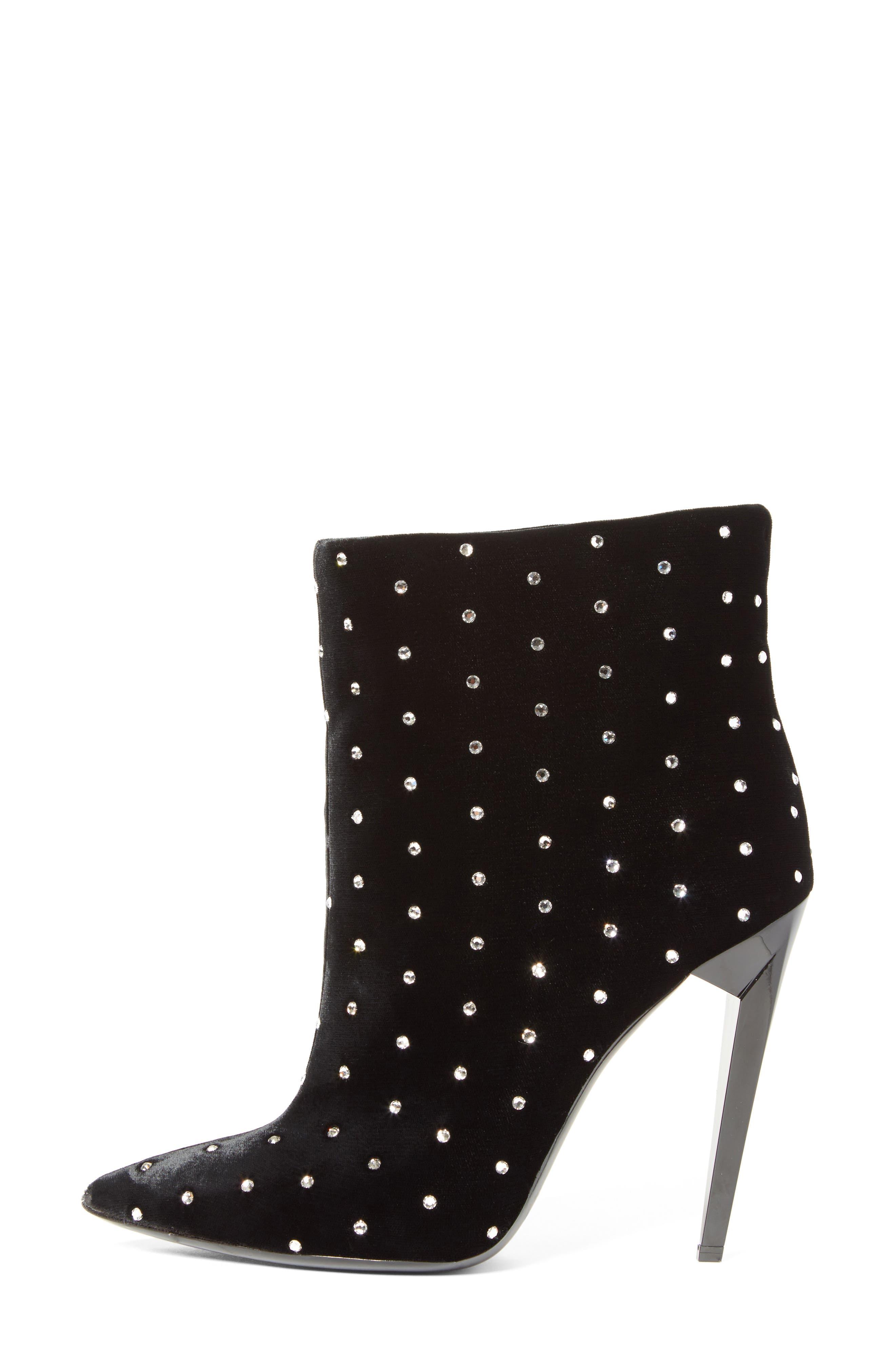 Alternate Image 5  - Saint Laurent Freja Embellished Broken Heel Bootie (Women)