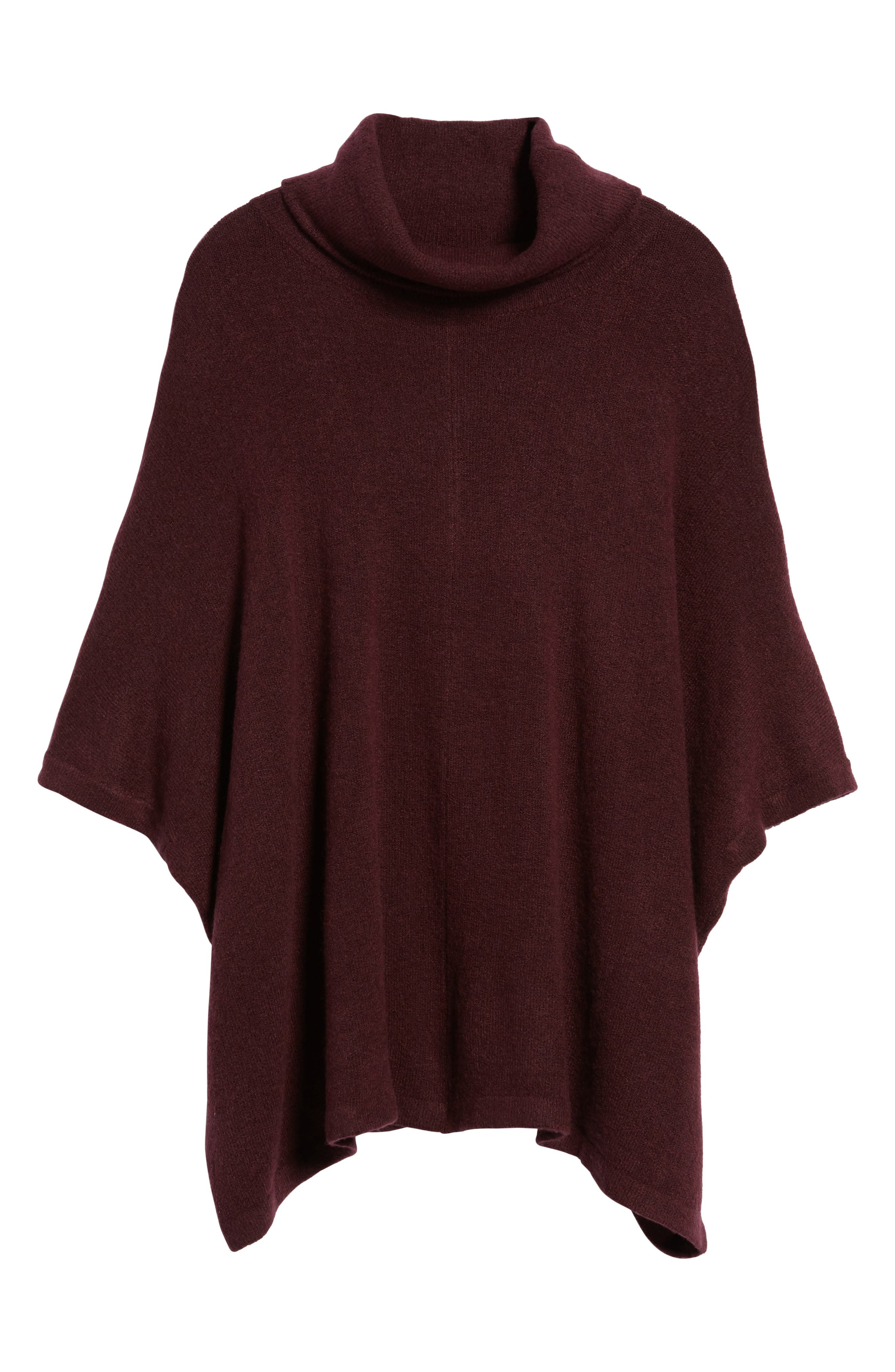 Alternate Image 6  - Caslon® Cowl Neck Sweater Poncho (Regular & Petite)