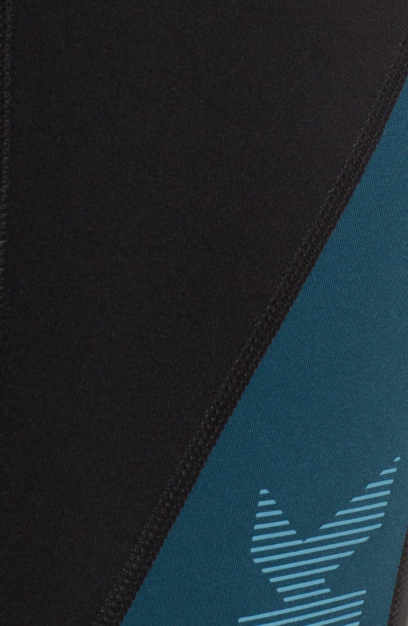 Alternate Image 6  - IVY PARK® Logo Block Mid Rise Ankle Leggings