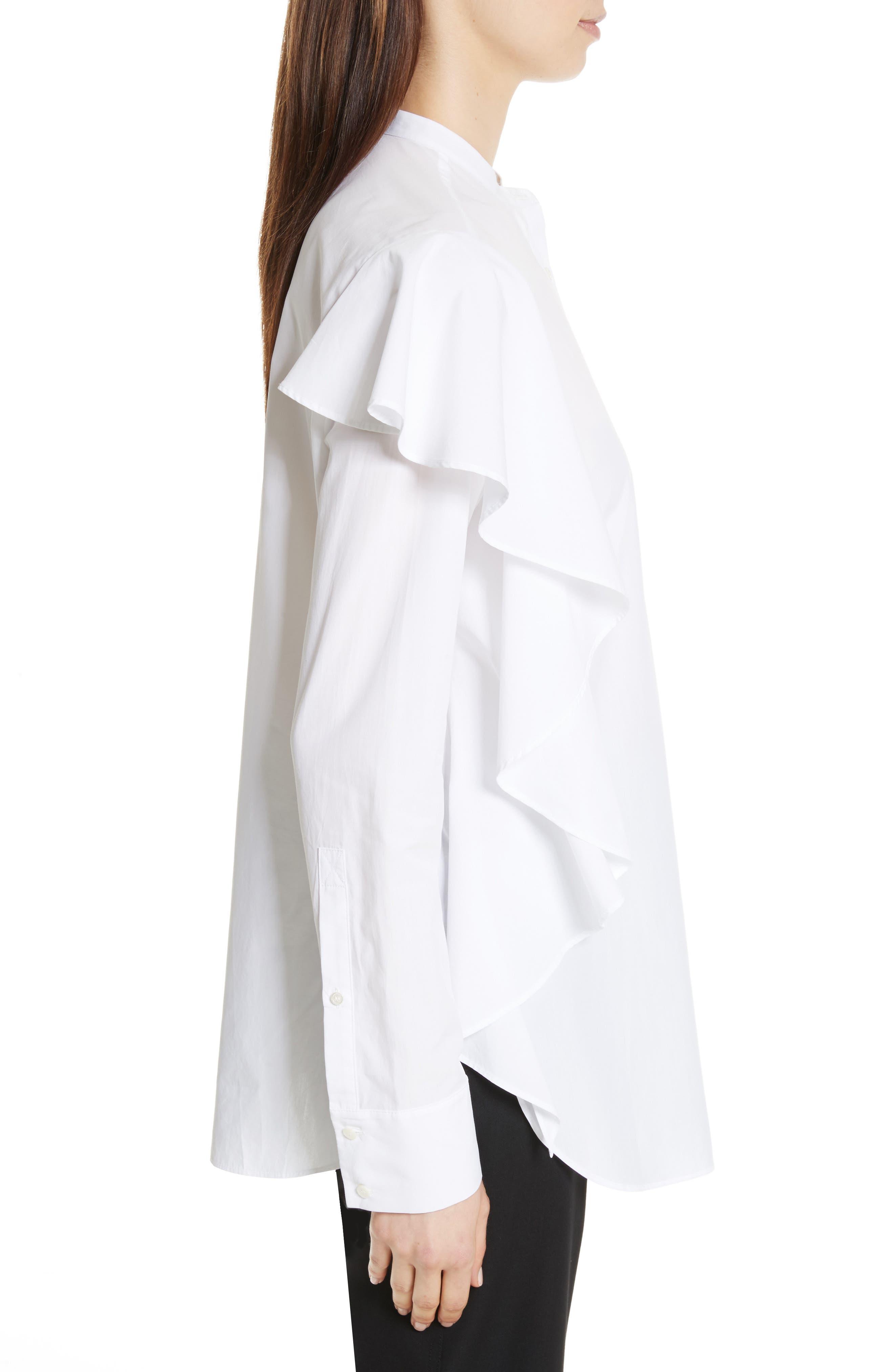 Alternate Image 3  - Robert Rodriguez Ruffle Cotton Shirt