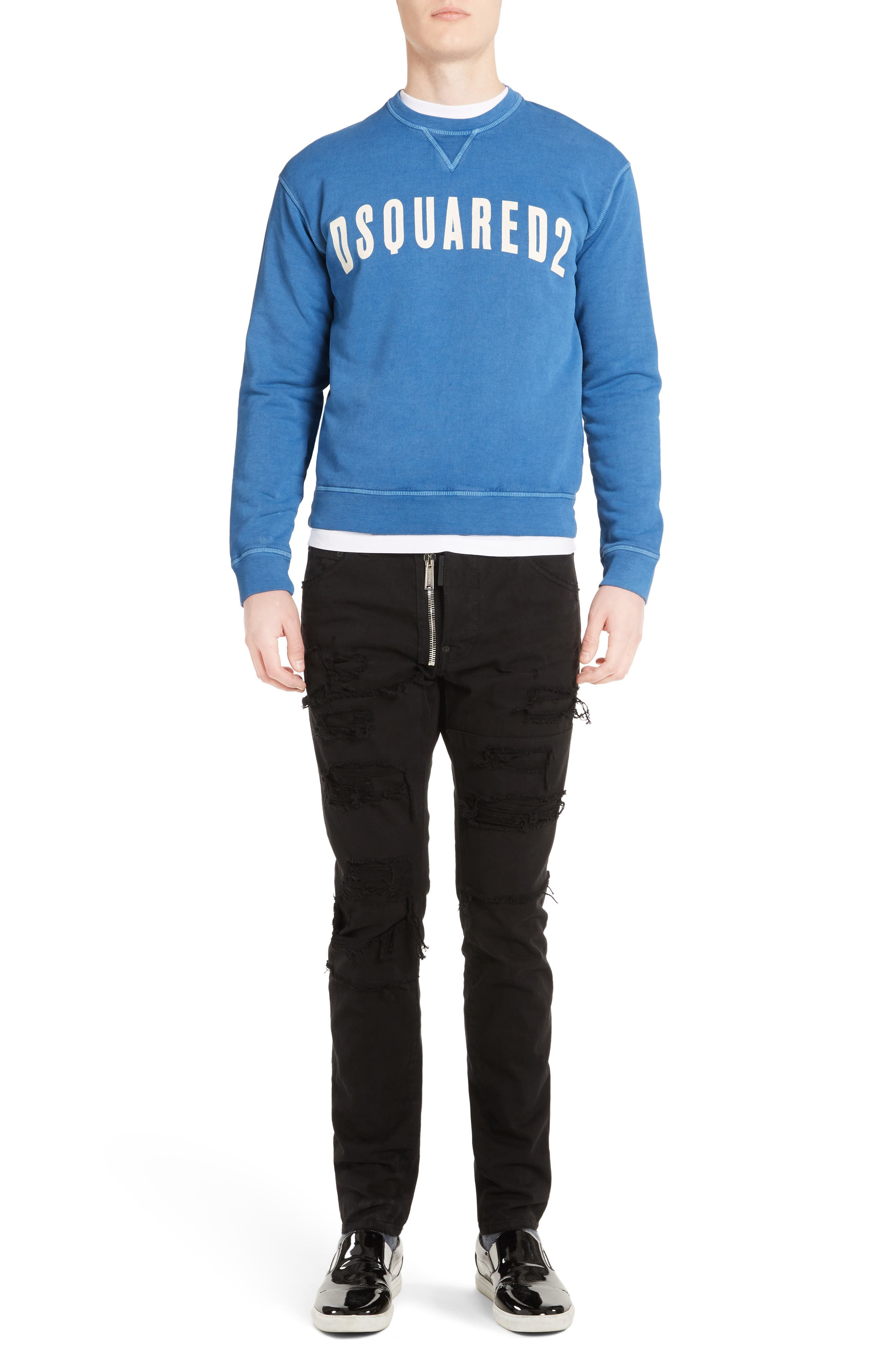 Alternate Image 6  - Dsquared2 Logo Sweatshirt