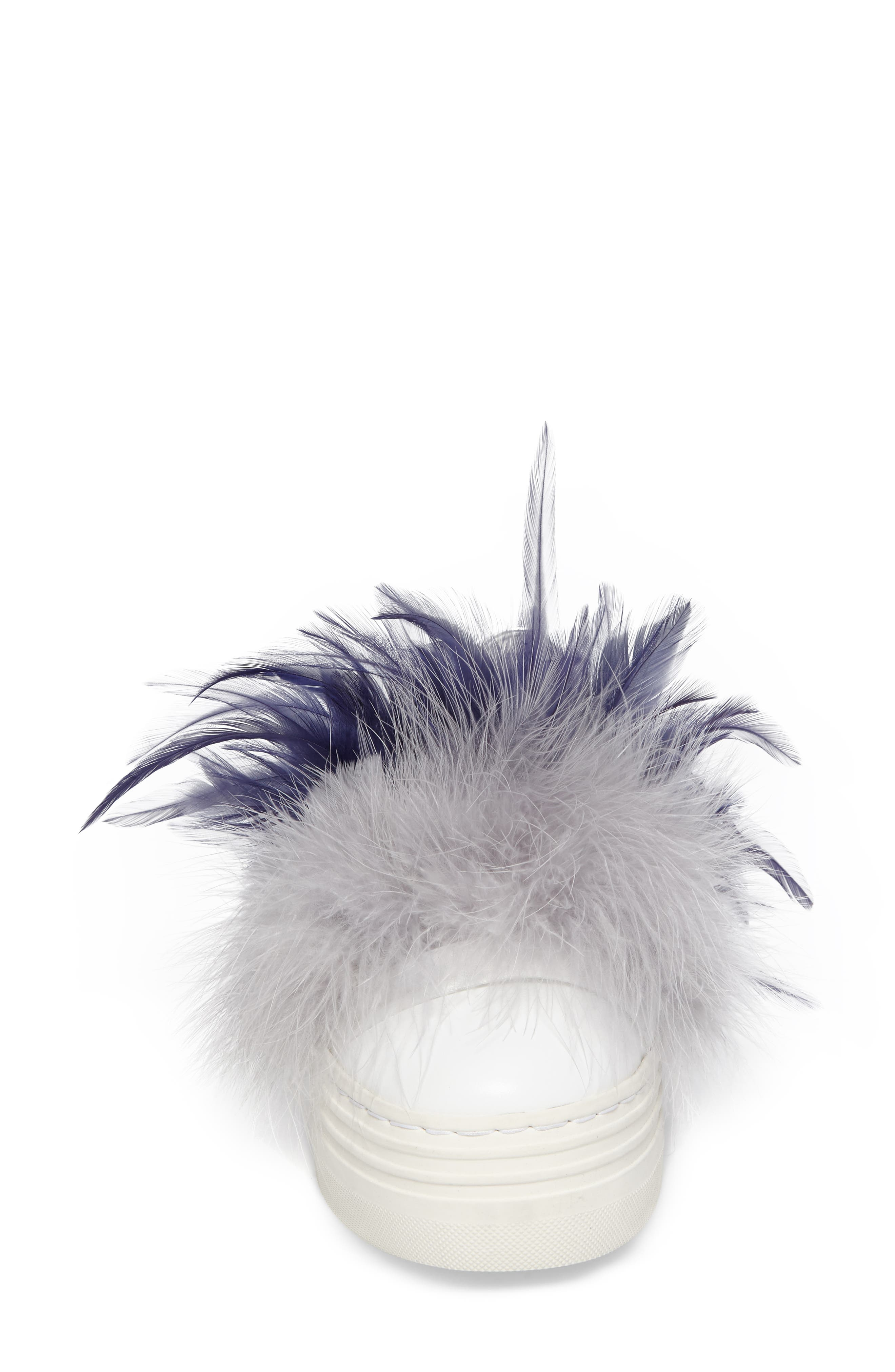 Alternate Image 4  - Here / Now Tina Feathered Slip-On Sneaker (Women)