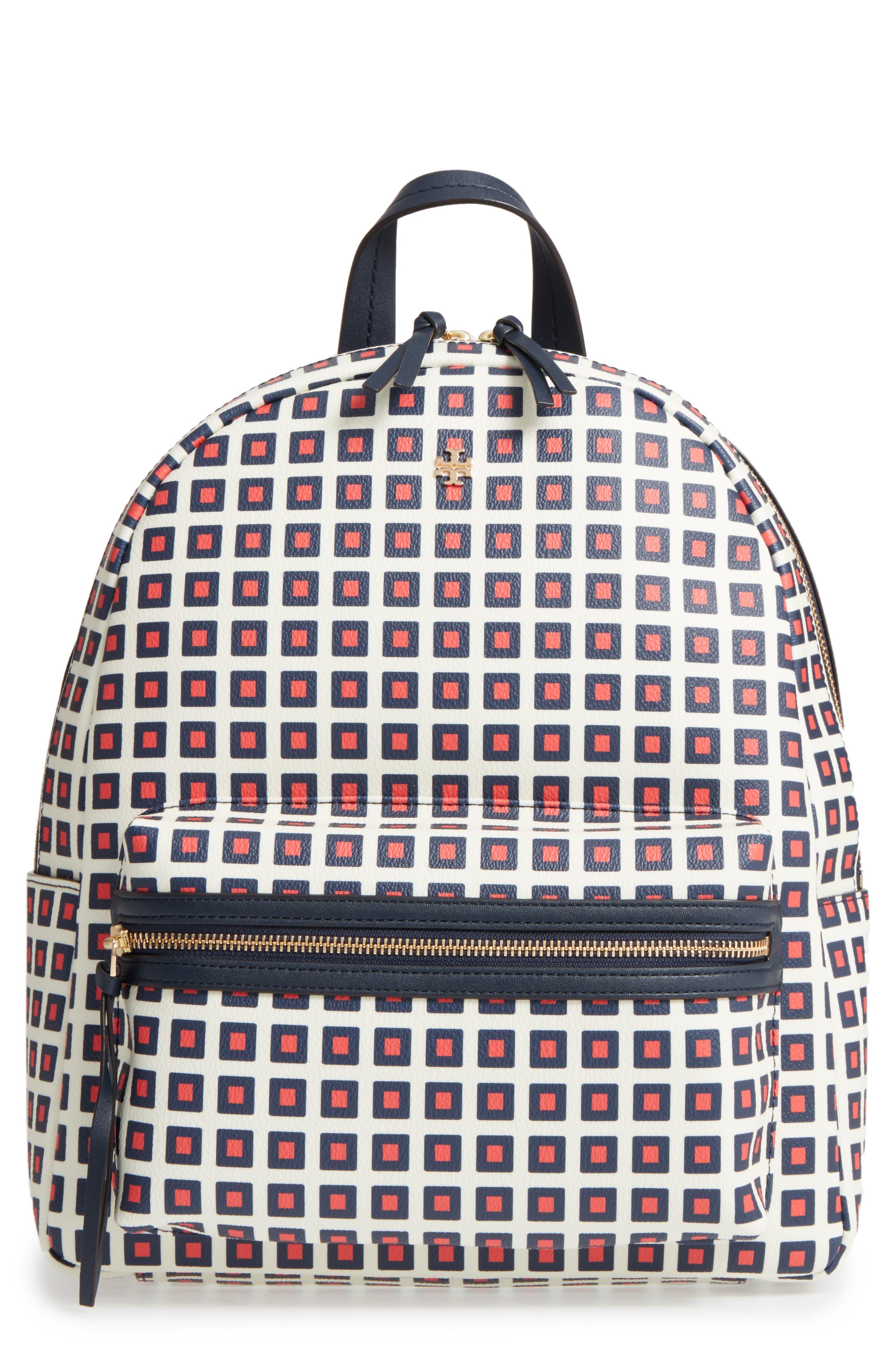 Tory Burch Kerrington Faux Leather Backpack