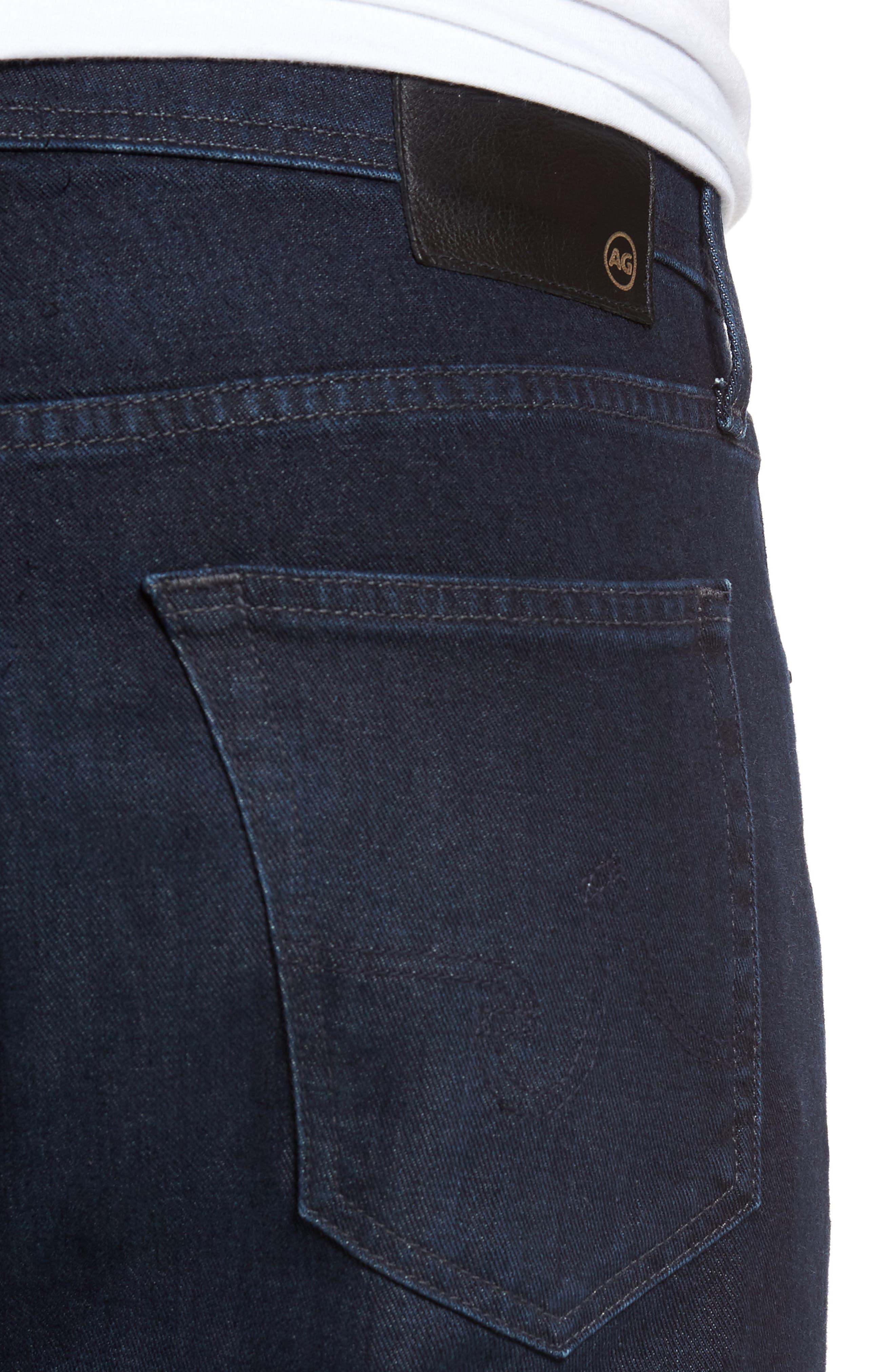 Everett Slim Straight Fit Jeans,                             Alternate thumbnail 4, color,                             Regulator
