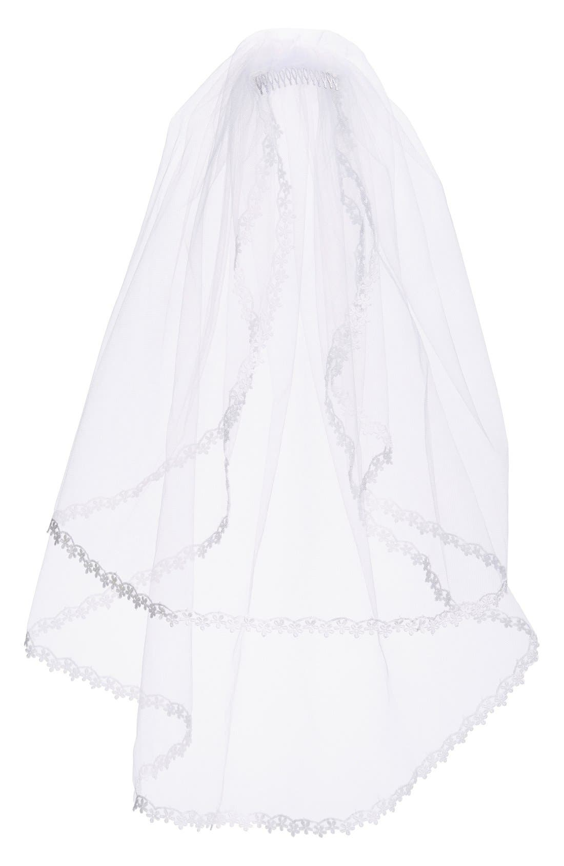 Alternate Image 1 Selected - Isabel Garreton Communion Veil (Girls)
