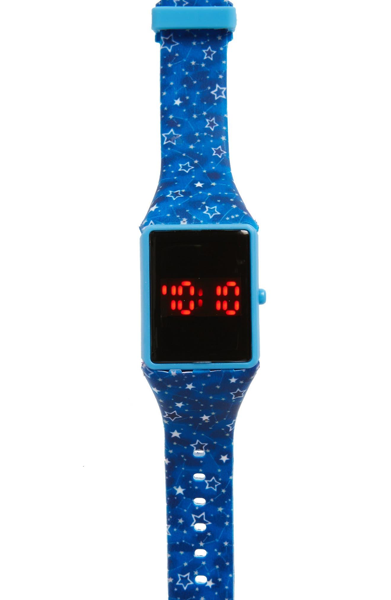 Alternate Image 1 Selected - Titanium LED Watch (Boys)