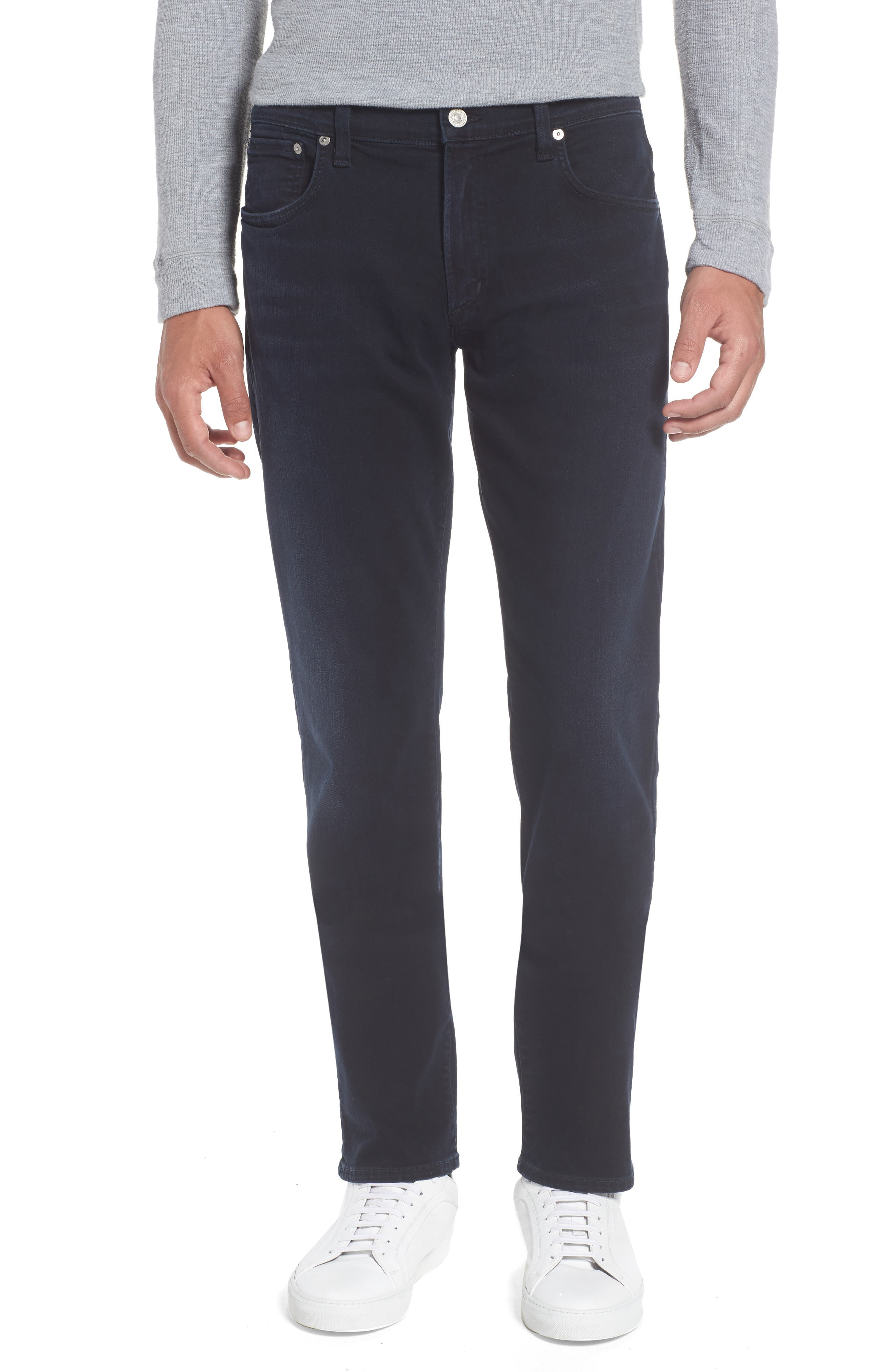 PERFORM - Gage Slim Straight Fit Jeans,                         Main,                         color, Ink