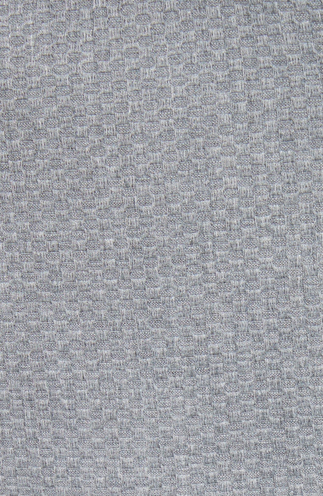 Nadae Bow Detail Crop Jacket,                             Alternate thumbnail 5, color,                             Mid Grey
