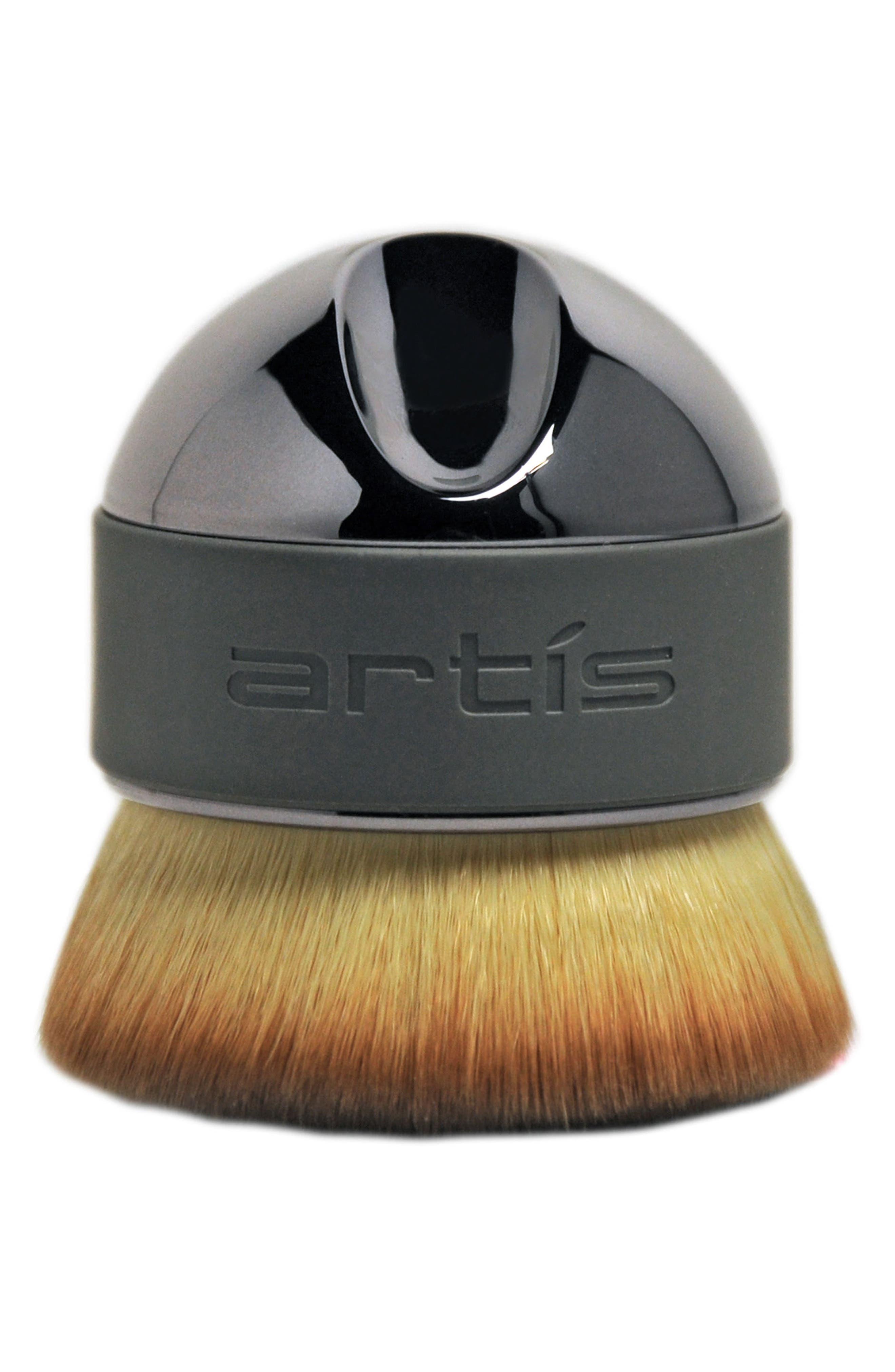 Elite Smoke Palm Brush,                         Main,                         color, Smoke