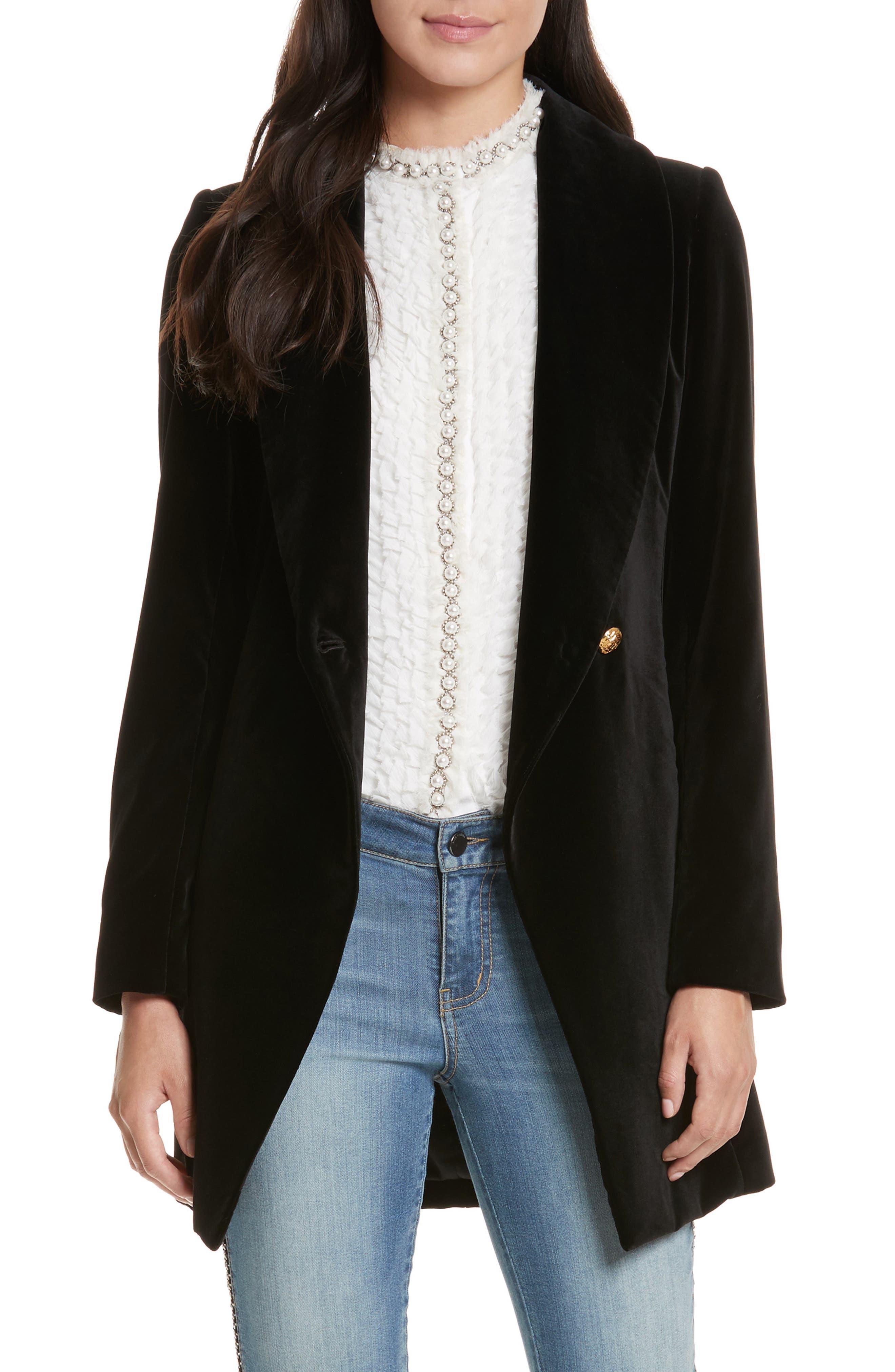 Vance Crossover Coat,                         Main,                         color, Black