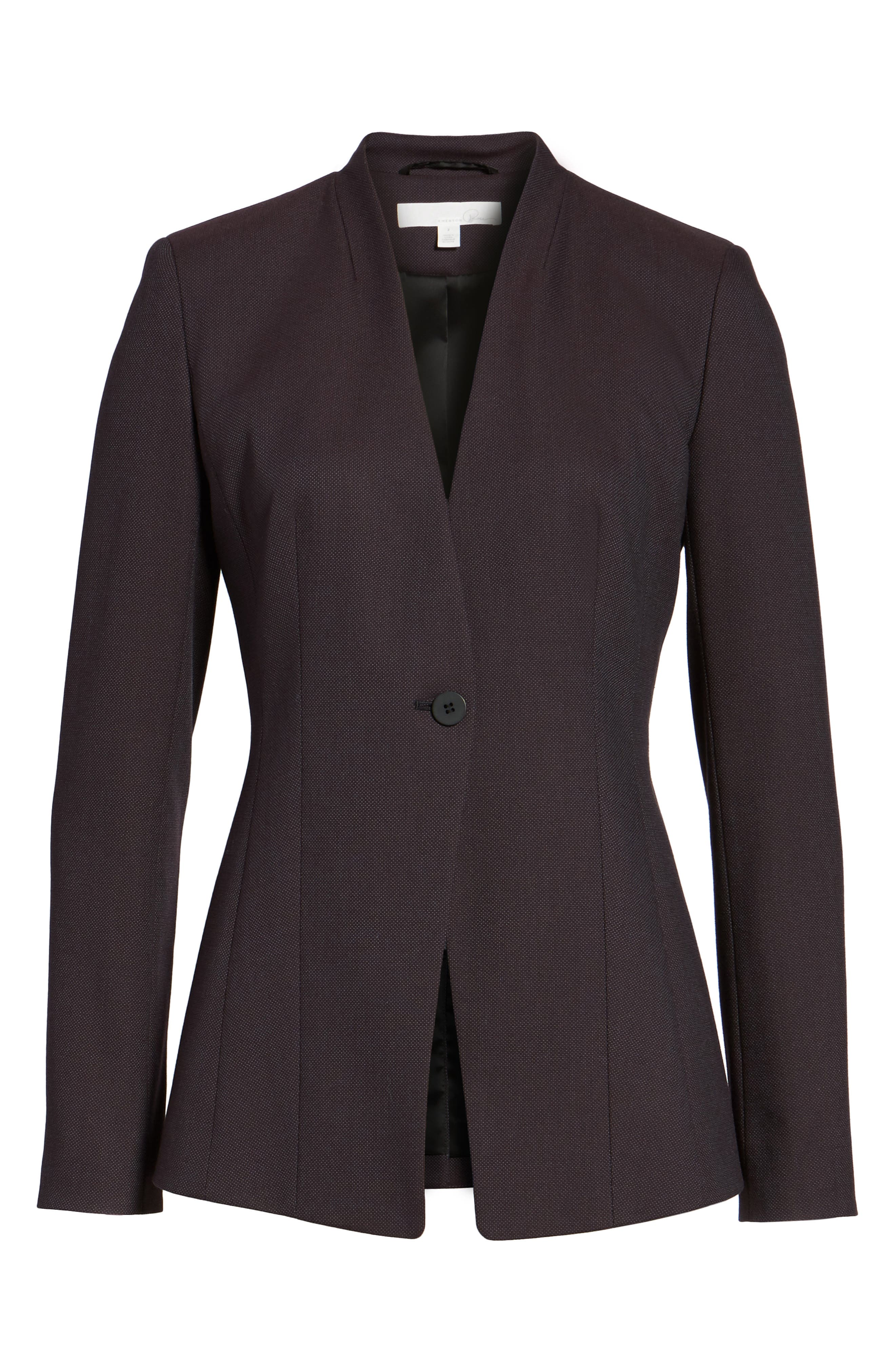 Alternate Image 7  - Emerson Rose One-Button Suit Jacket