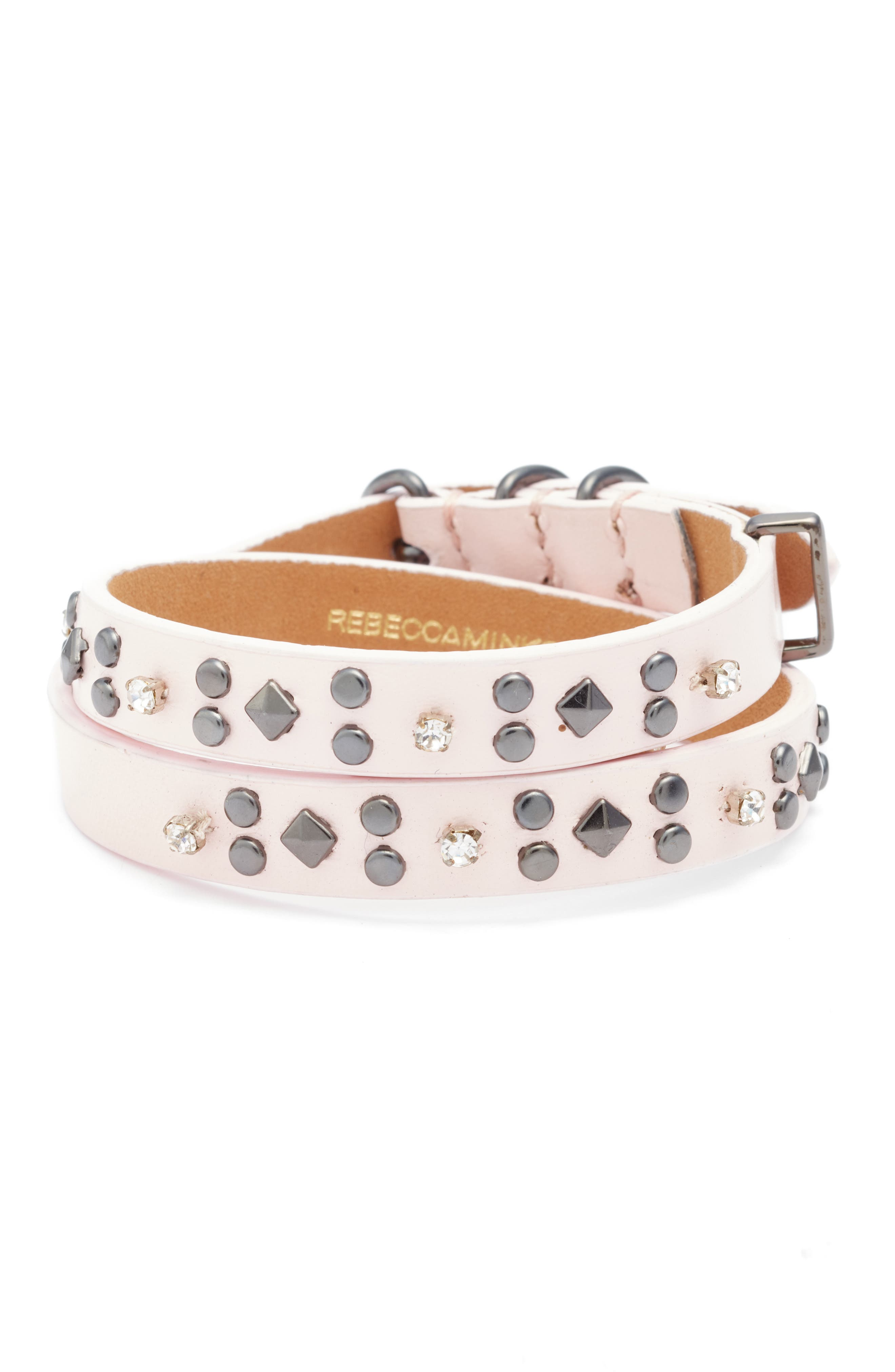 Rebecca Minkoff Wrap Leather Bracelet