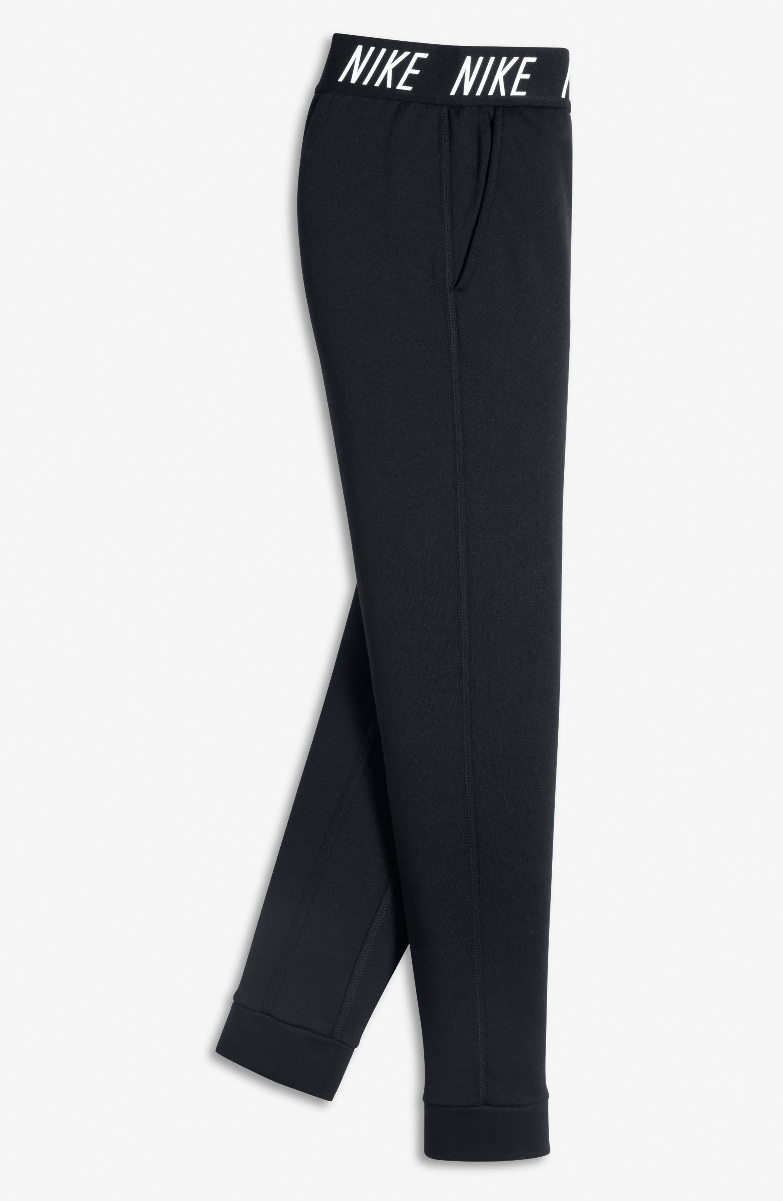 Alternate Image 3  - Nike Dry Core Studio Training Pants (Big Girls)