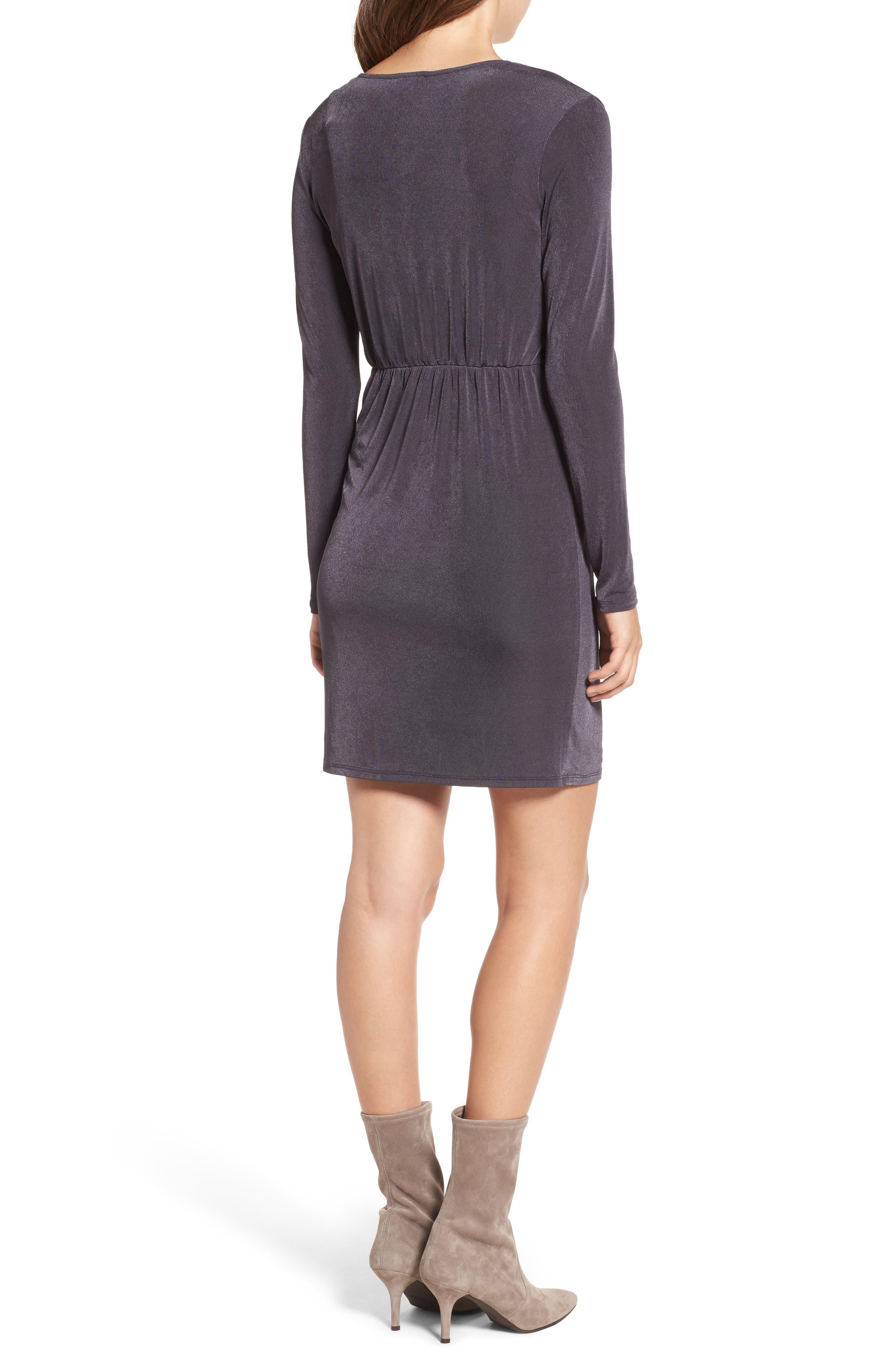 Alternate Image 2  - STOREE Twist Front Knit Dress