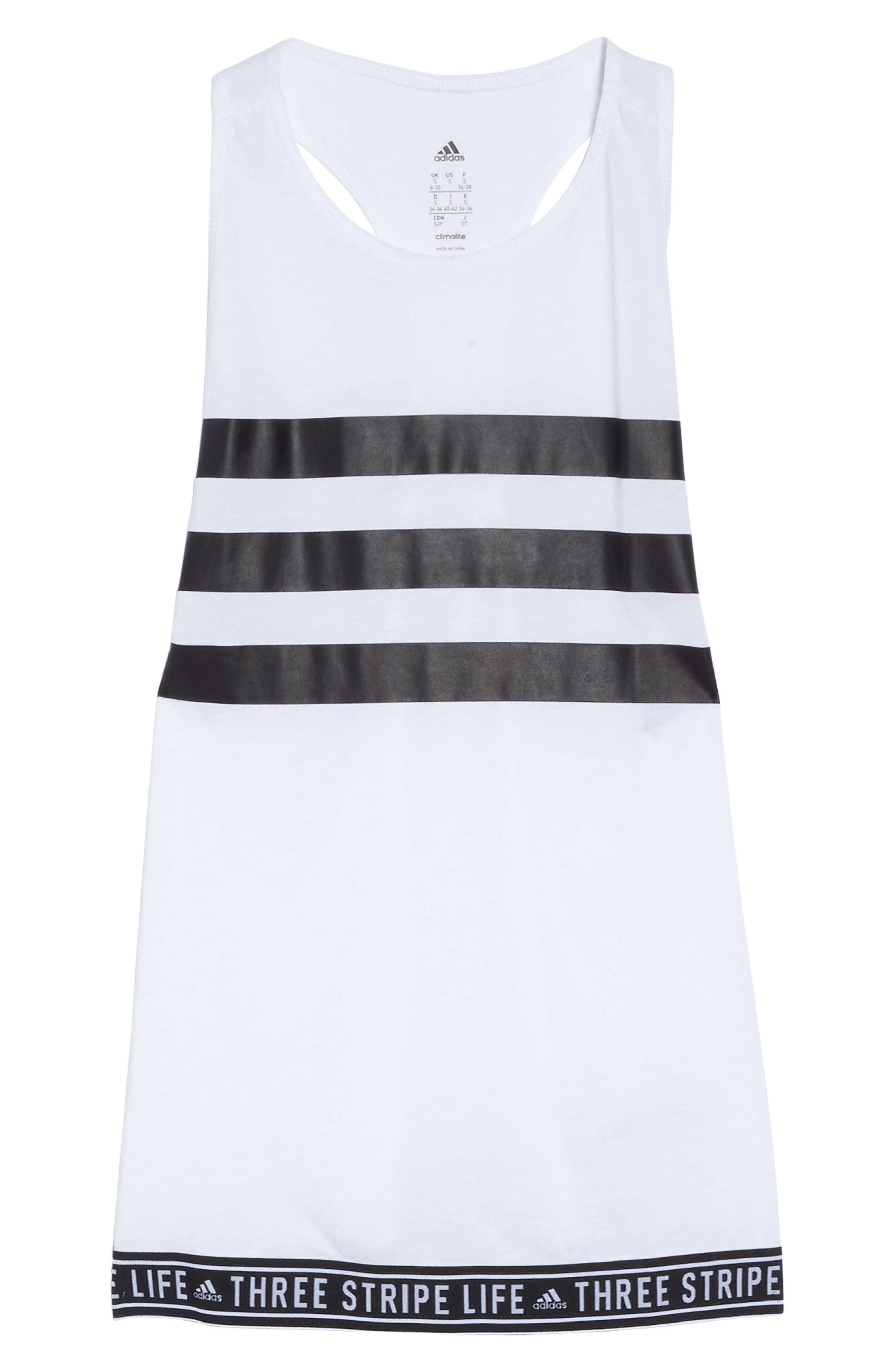 Alternate Image 6  - adidas 3-Stripe Muscle Tank