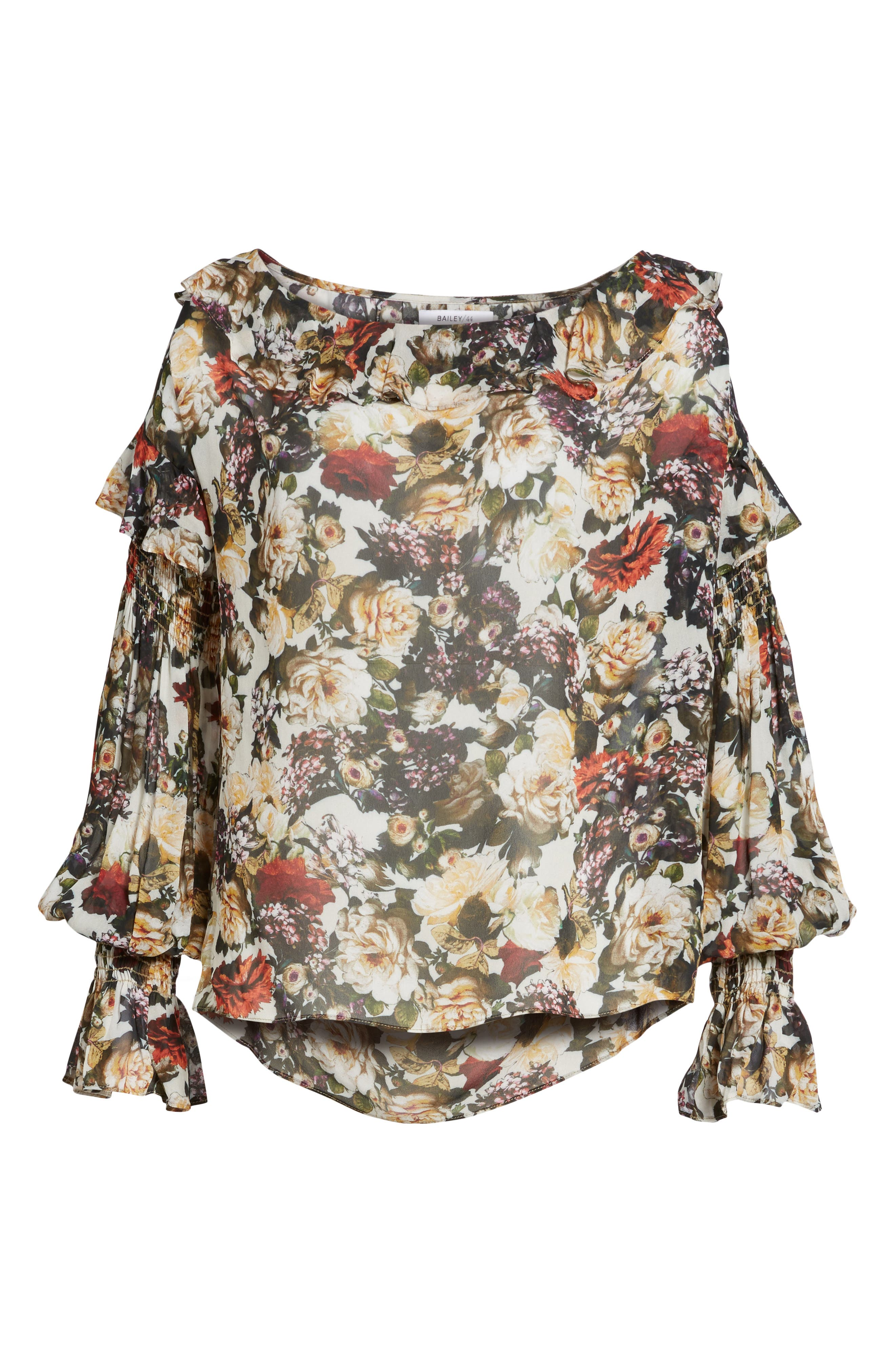 Once Upon a Time Blouse,                             Alternate thumbnail 6, color,                             Floral
