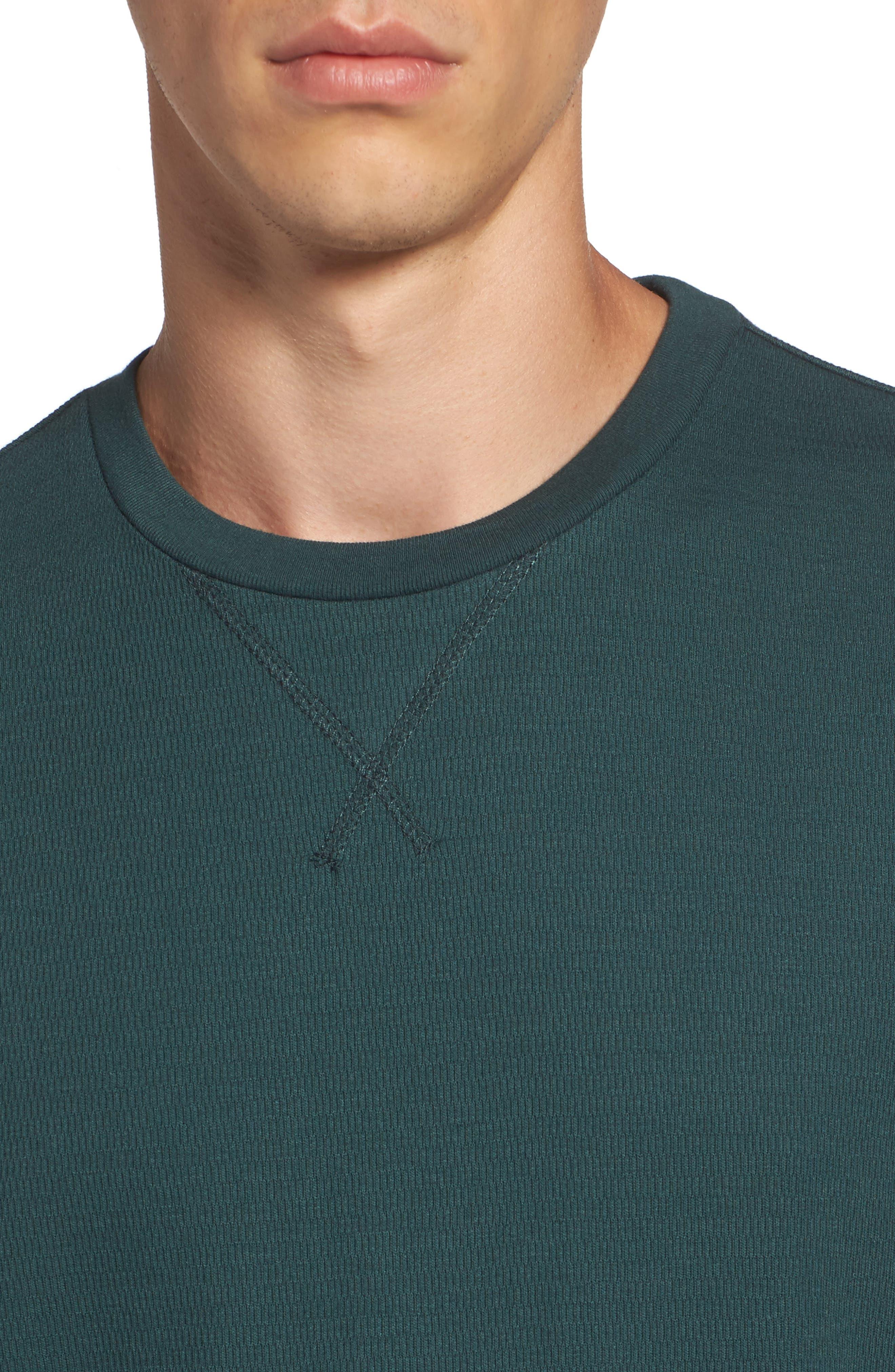 Alternate Image 4  - The Rail Longline Thermal T-Shirt