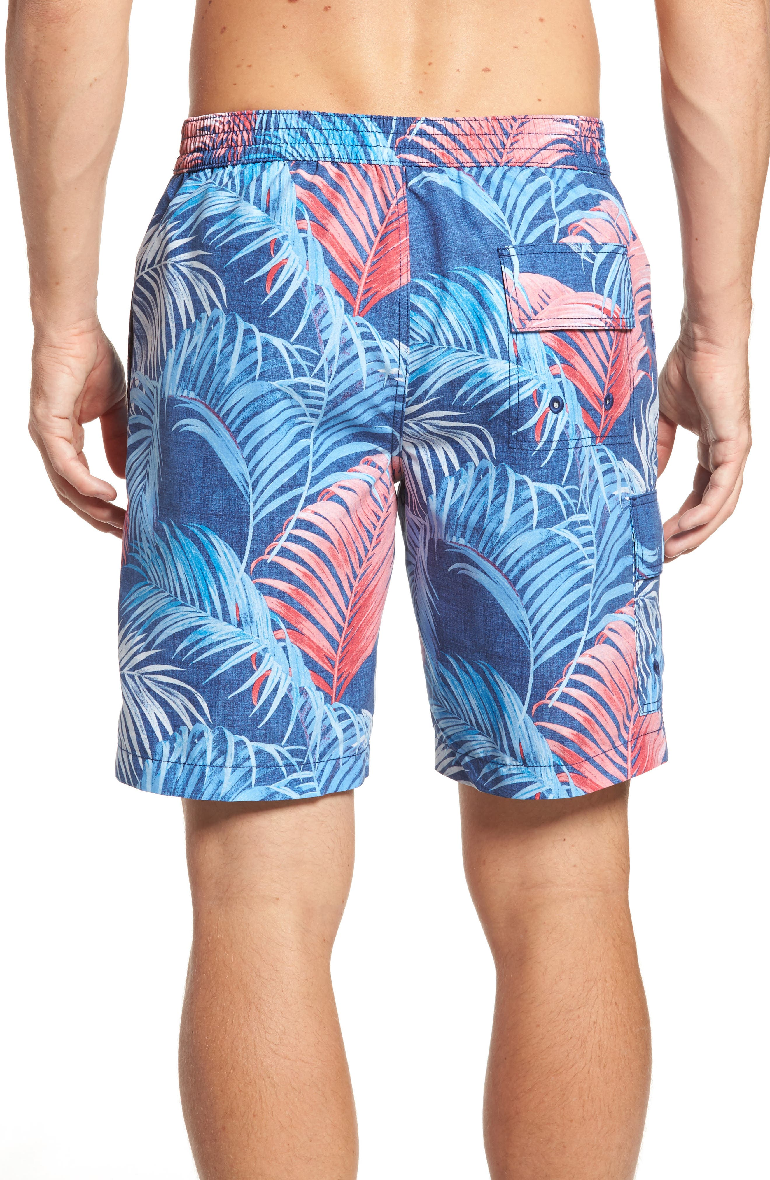 Alternate Image 2  - Tommy Bahama Baja Fez Frond Board Shorts