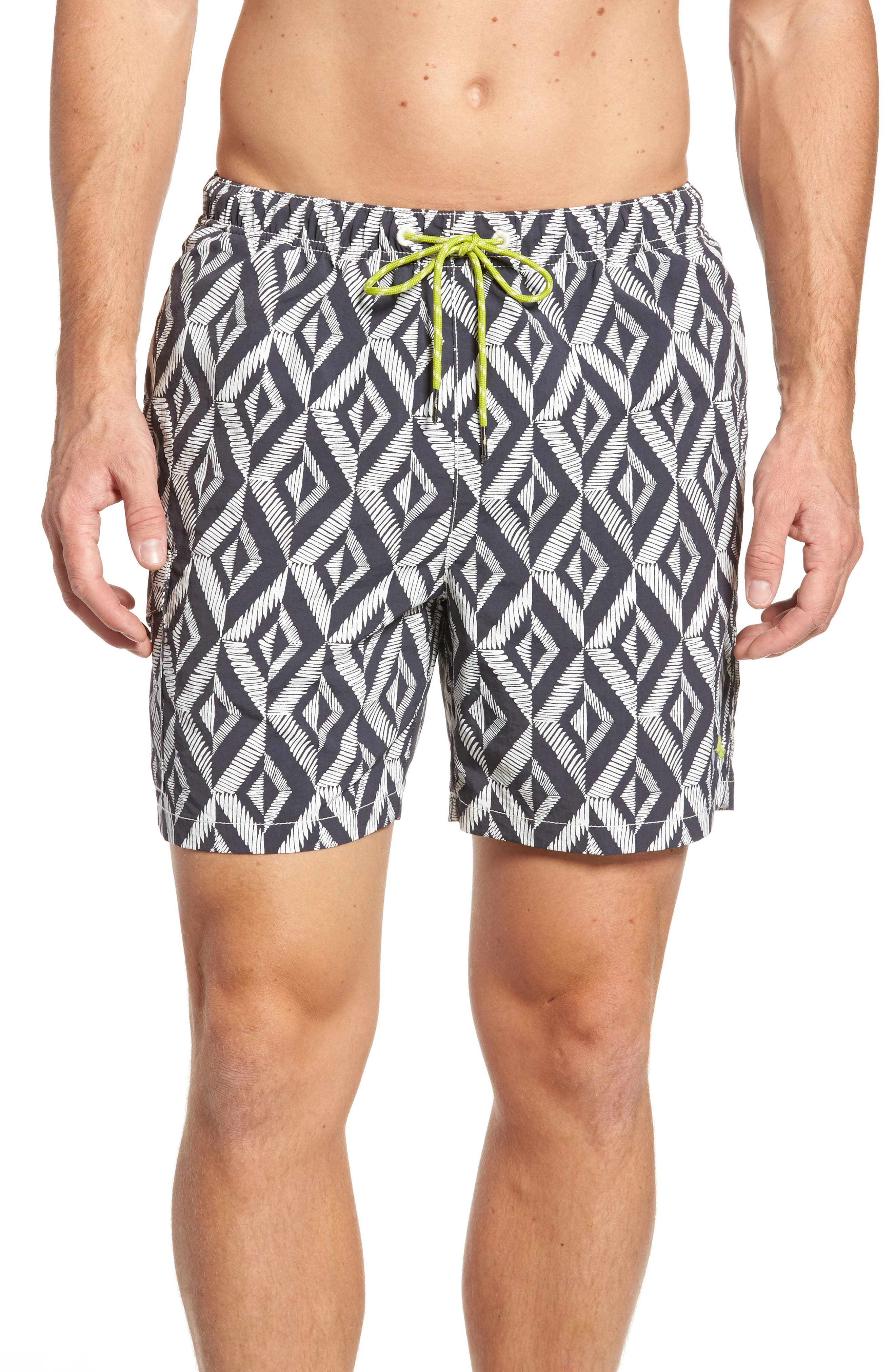 Naples Almas Swim Trunks,                         Main,                         color, Night Swim