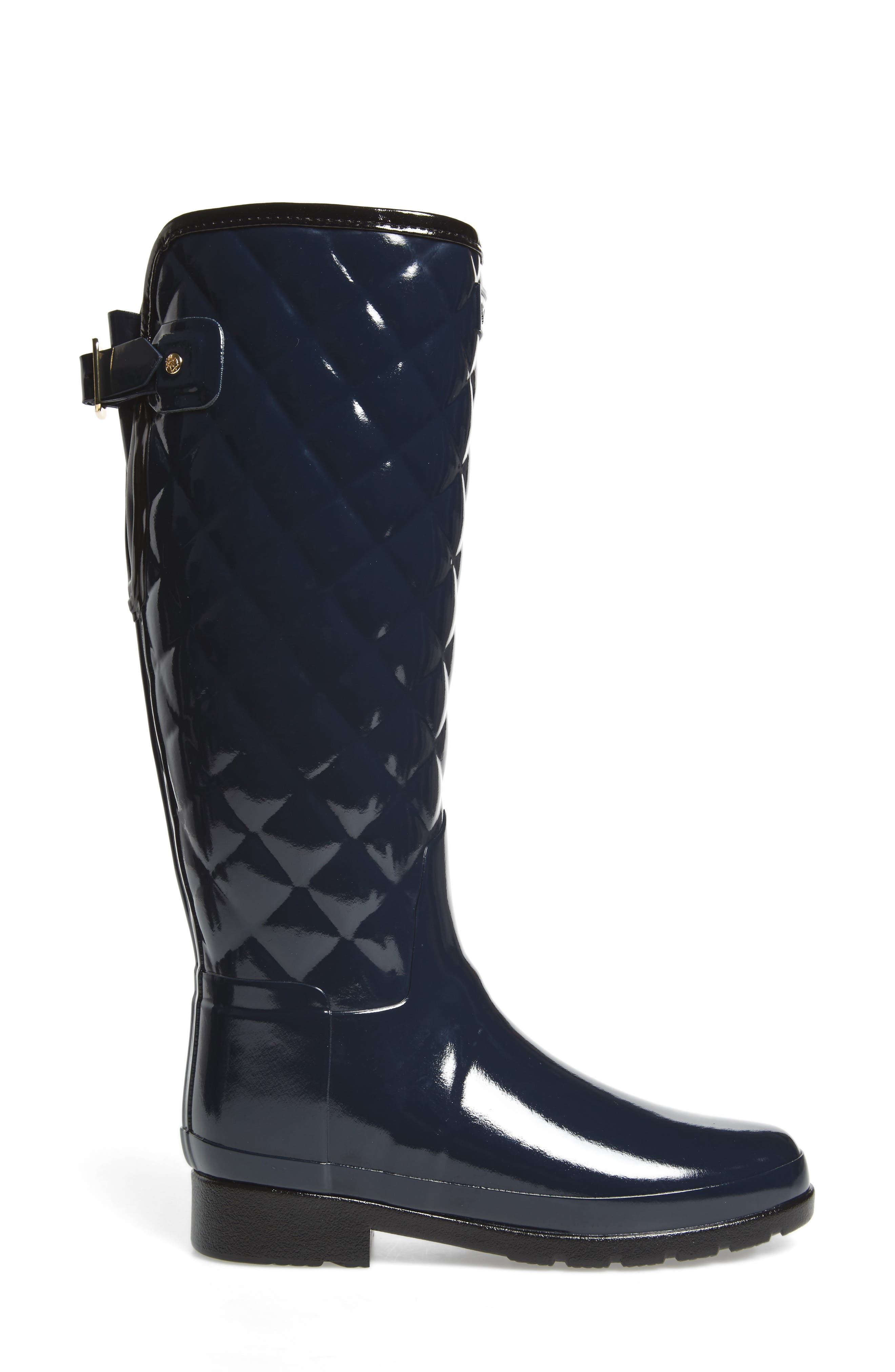 Alternate Image 3  - Hunter Original Refined High Gloss Quilted Rain Boot (Women)