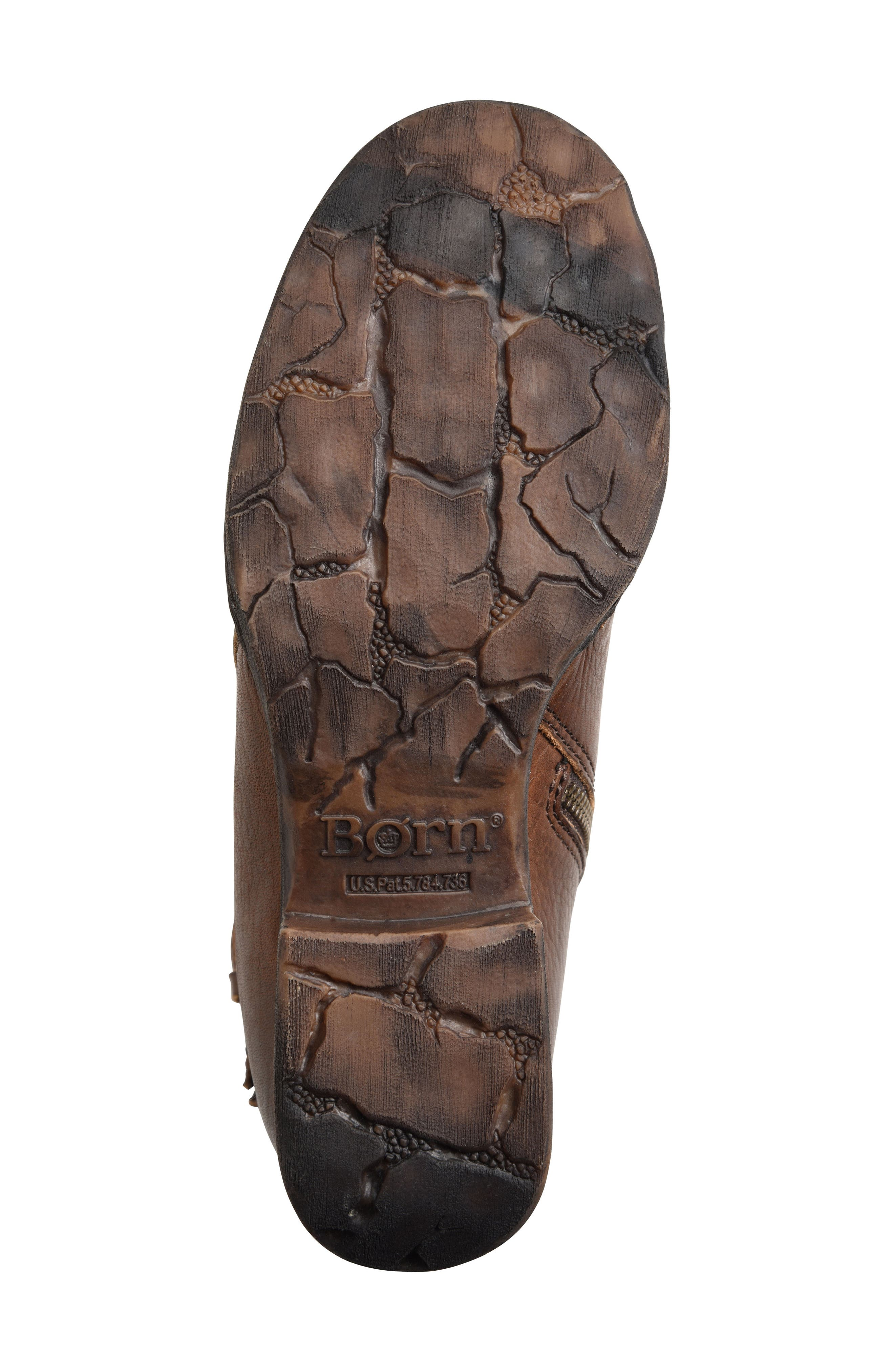 Carbine Bootie,                             Alternate thumbnail 6, color,                             Brown Leather