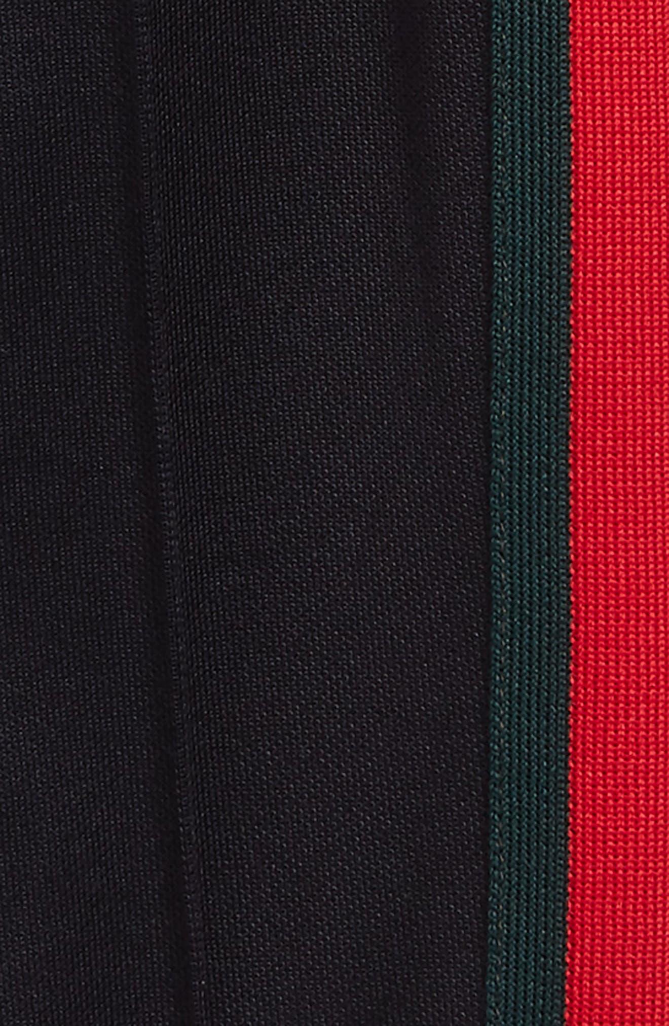 Stripe Jersey Stirrup Pants,                             Alternate thumbnail 2, color,                             Ink