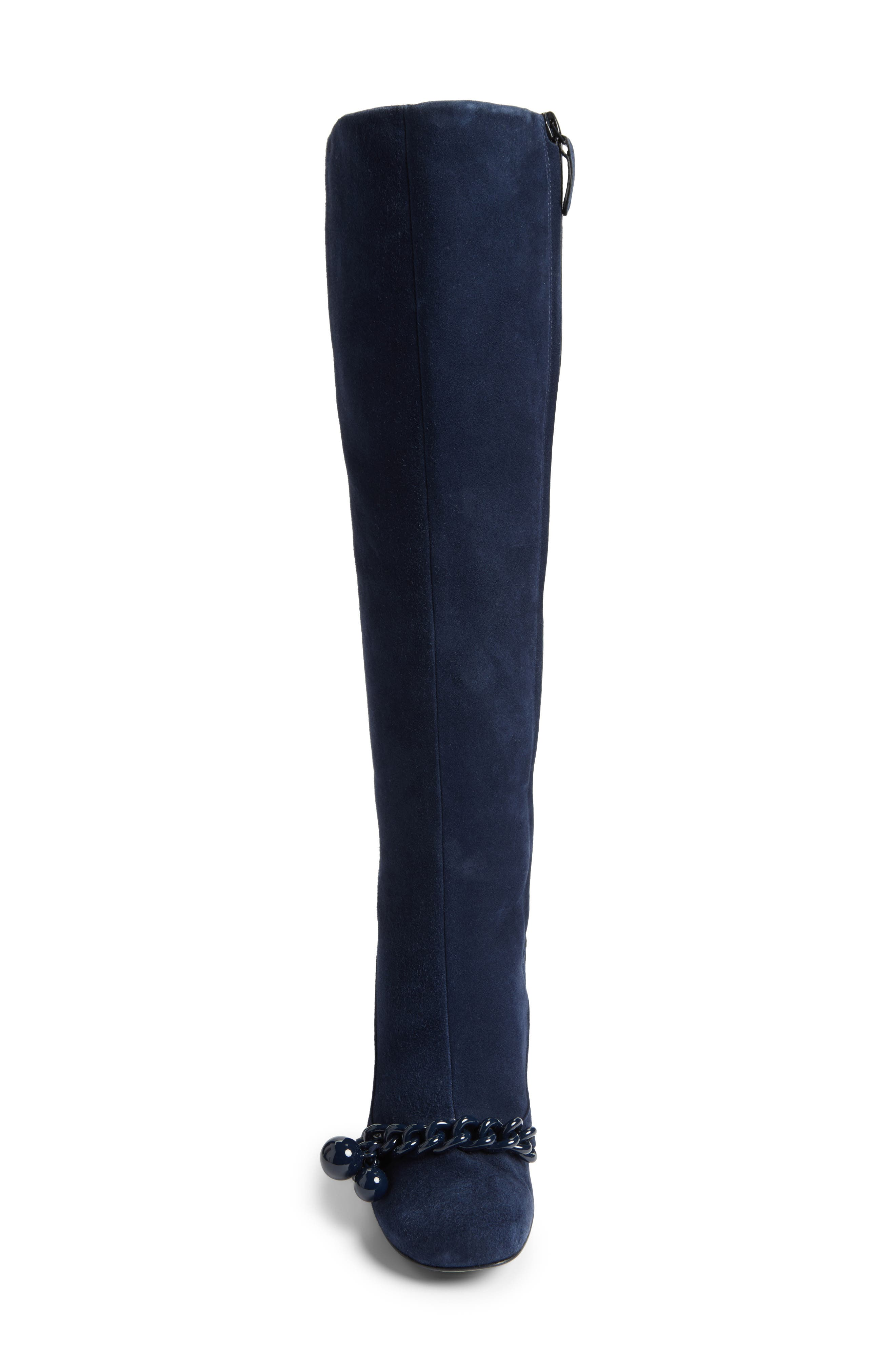 Alternate Image 4  - Tory Burch Addison Flared Heel Boot (Women)