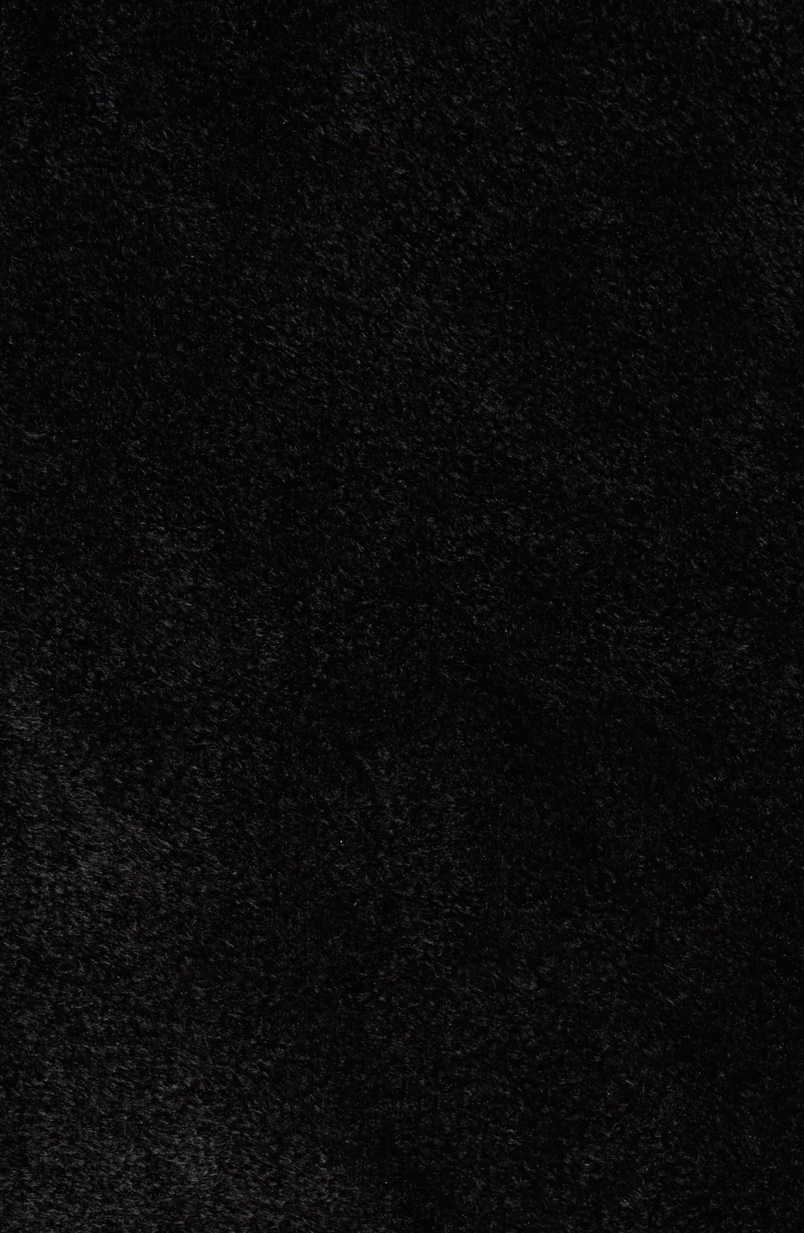 Chenille Turtleneck Sweater,                             Alternate thumbnail 5, color,                             00N99 Black