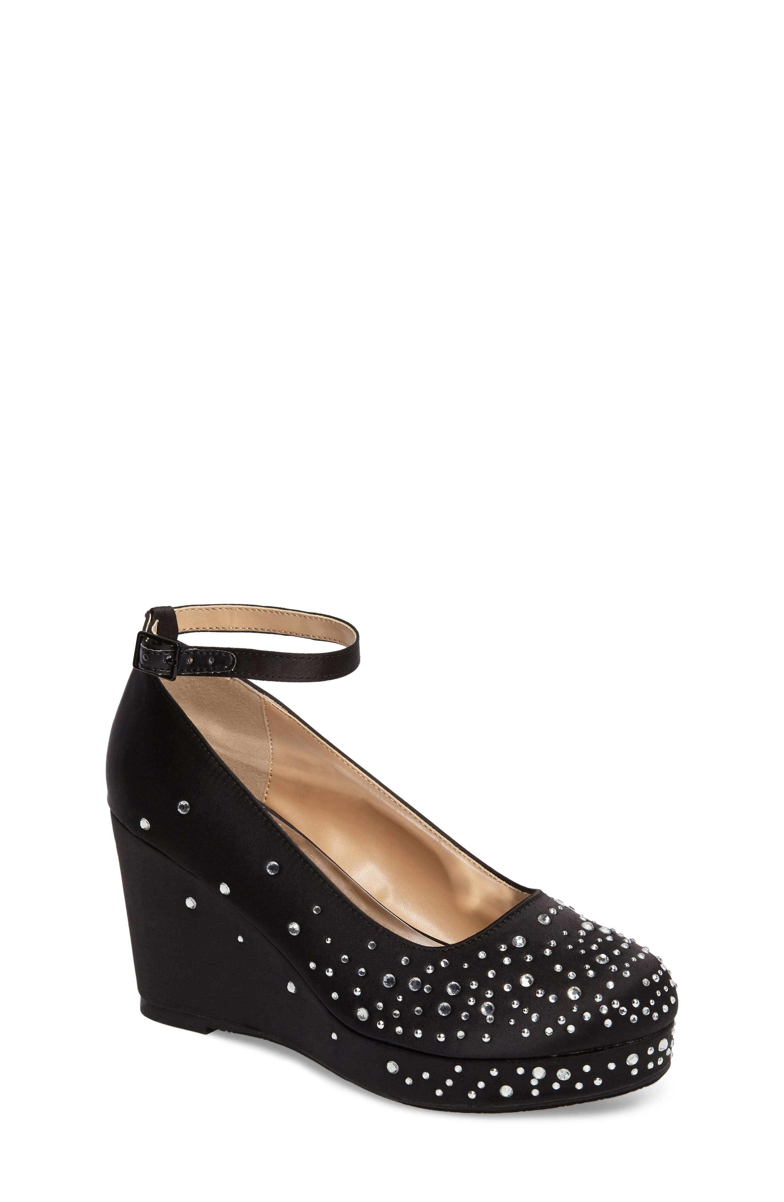 BADGLEY MISCHKA Sophia Sparkle Wedge