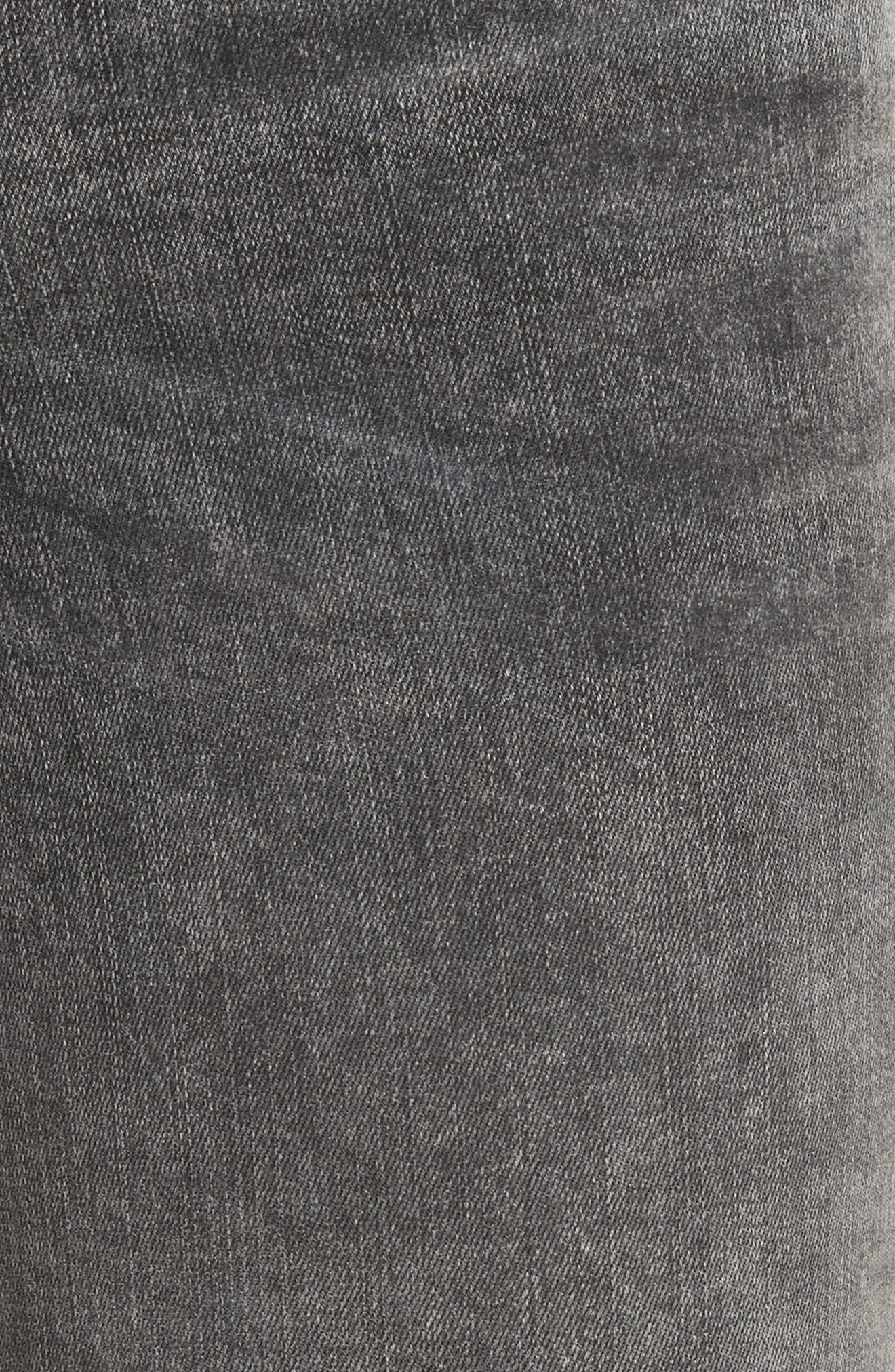 Alternate Image 6  - FRAME Le Skinny de Jeanne Raw Edge Skinny Jeans (Bennington)