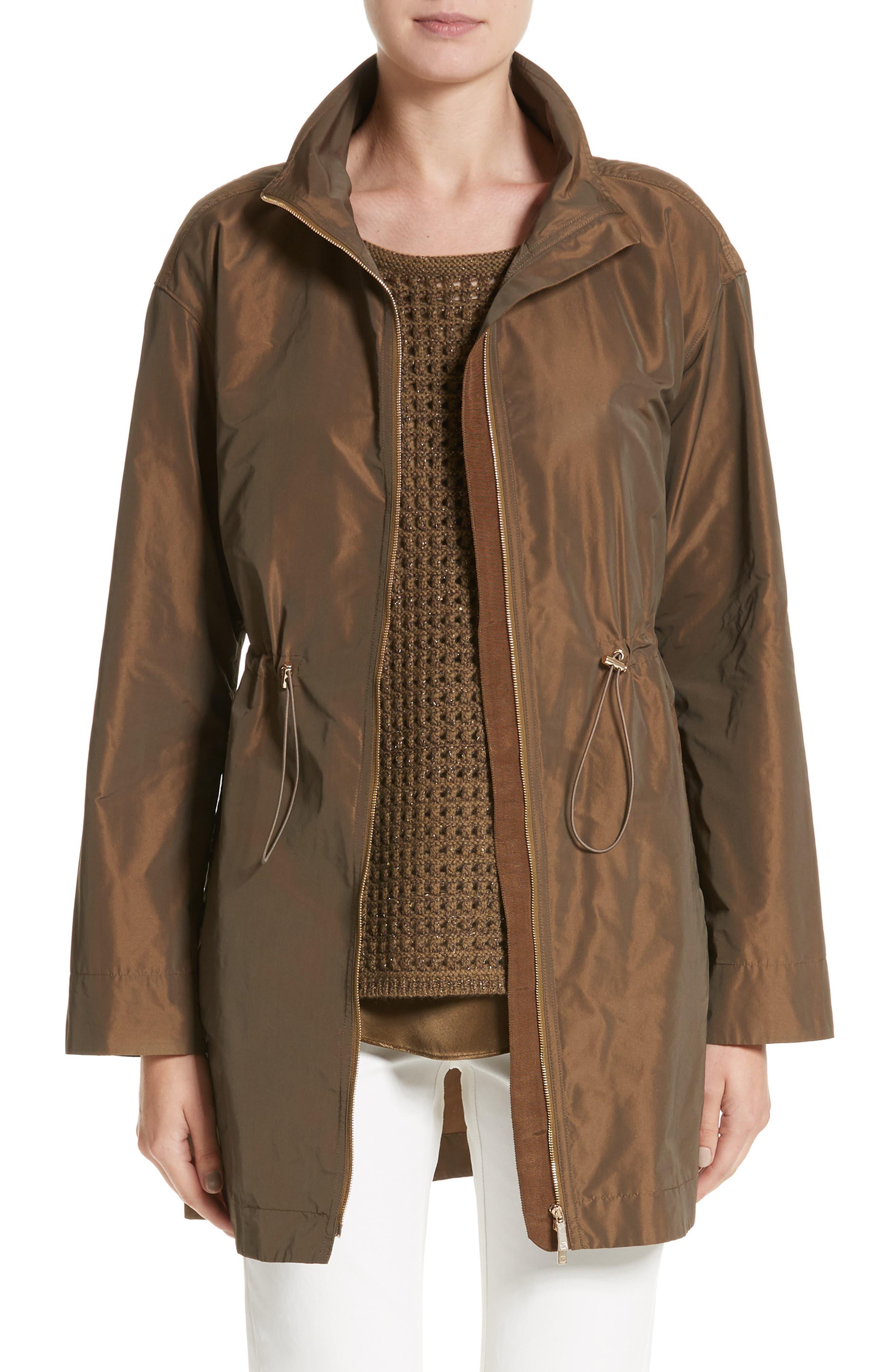 Main Image - Lafayette 148 New York Nikolina Packable Jacket