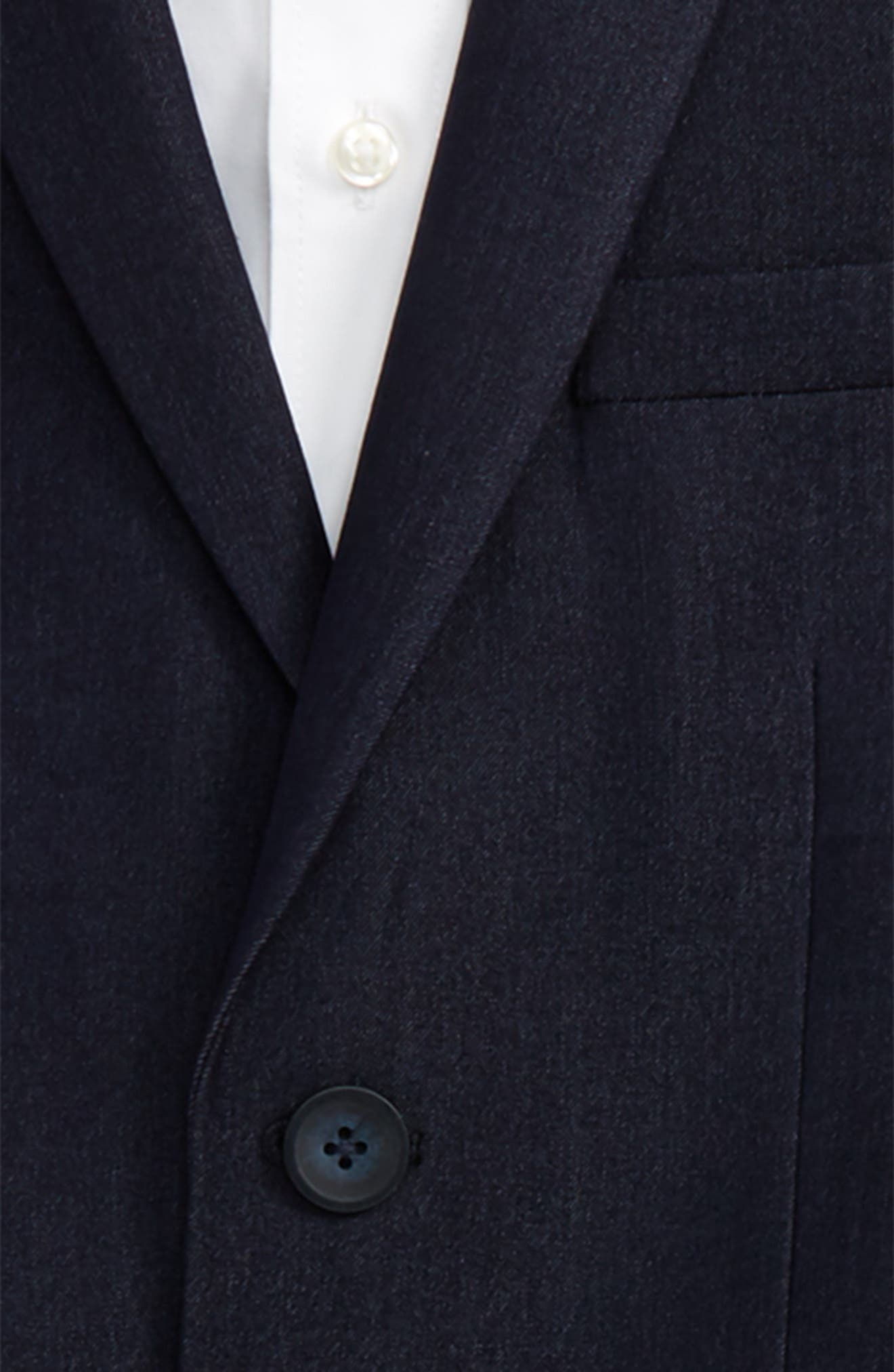 Twill Suit,                             Alternate thumbnail 2, color,                             Denim Blue