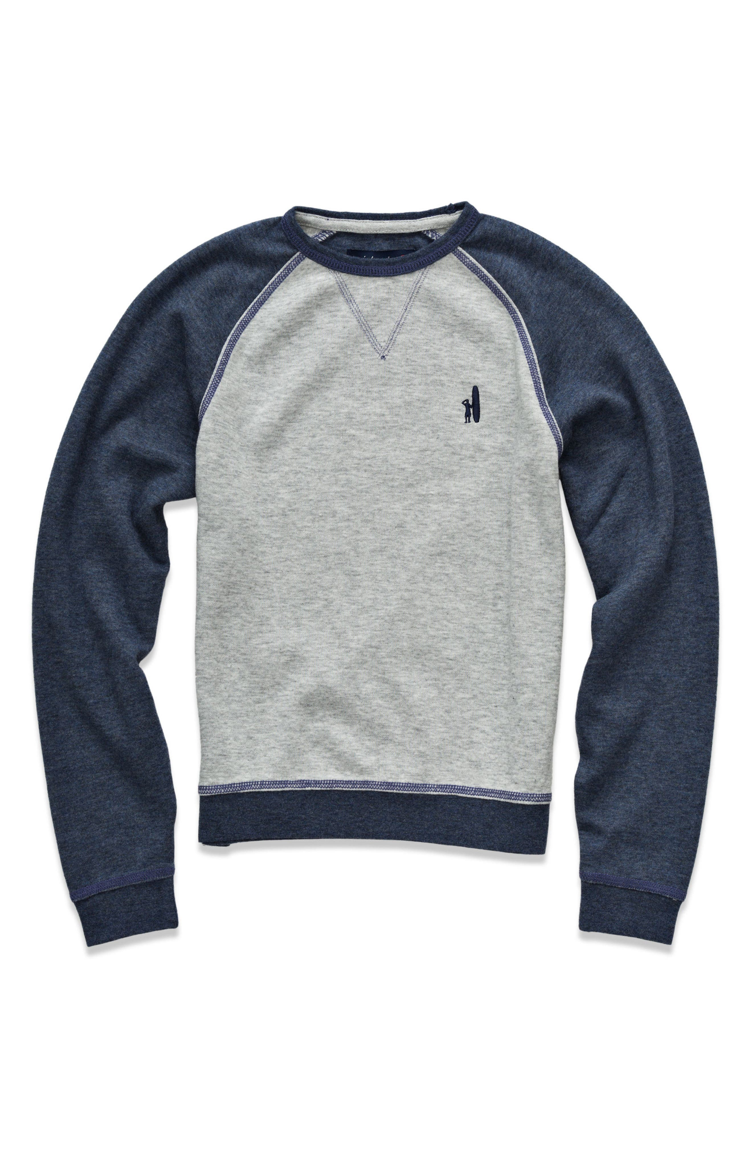 Main Image - johnnie-O Conor Raglan Sweatshirt (Little Boys & Big Boys)