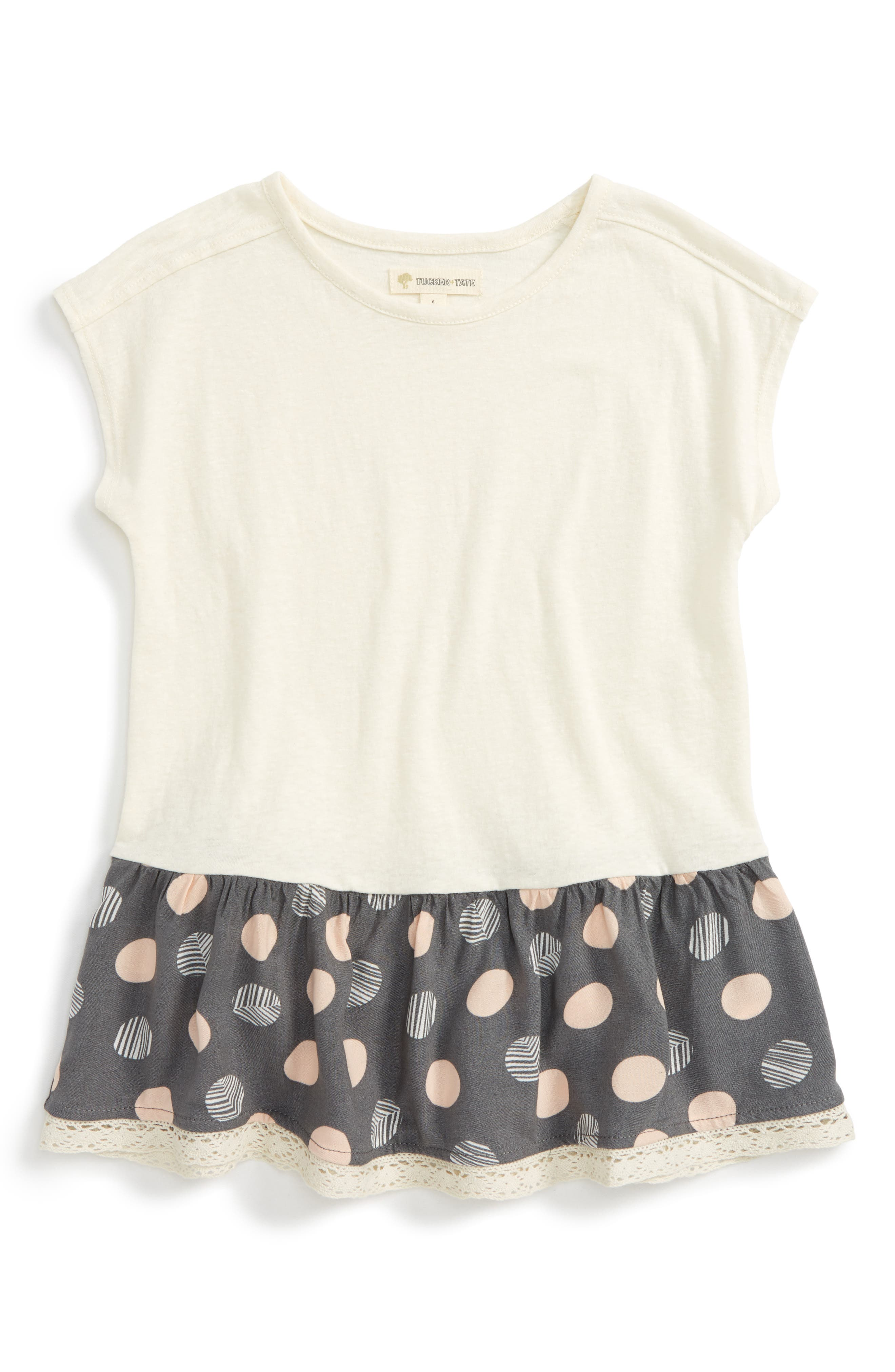 Tucker + Tate Peplum Tunic (Toddler Girls, Little Girls & Big Girls)