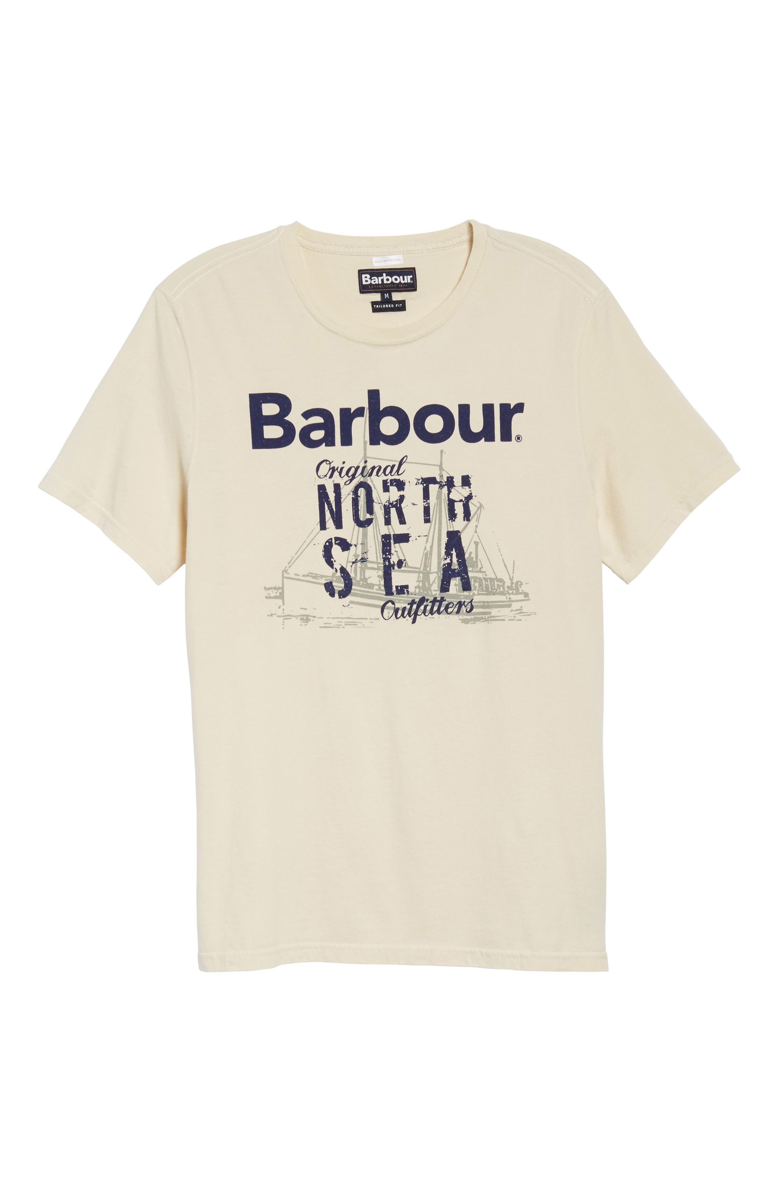 Alternate Image 6  - Barbour Blade Slim Fit Logo Graphic T-Shirt