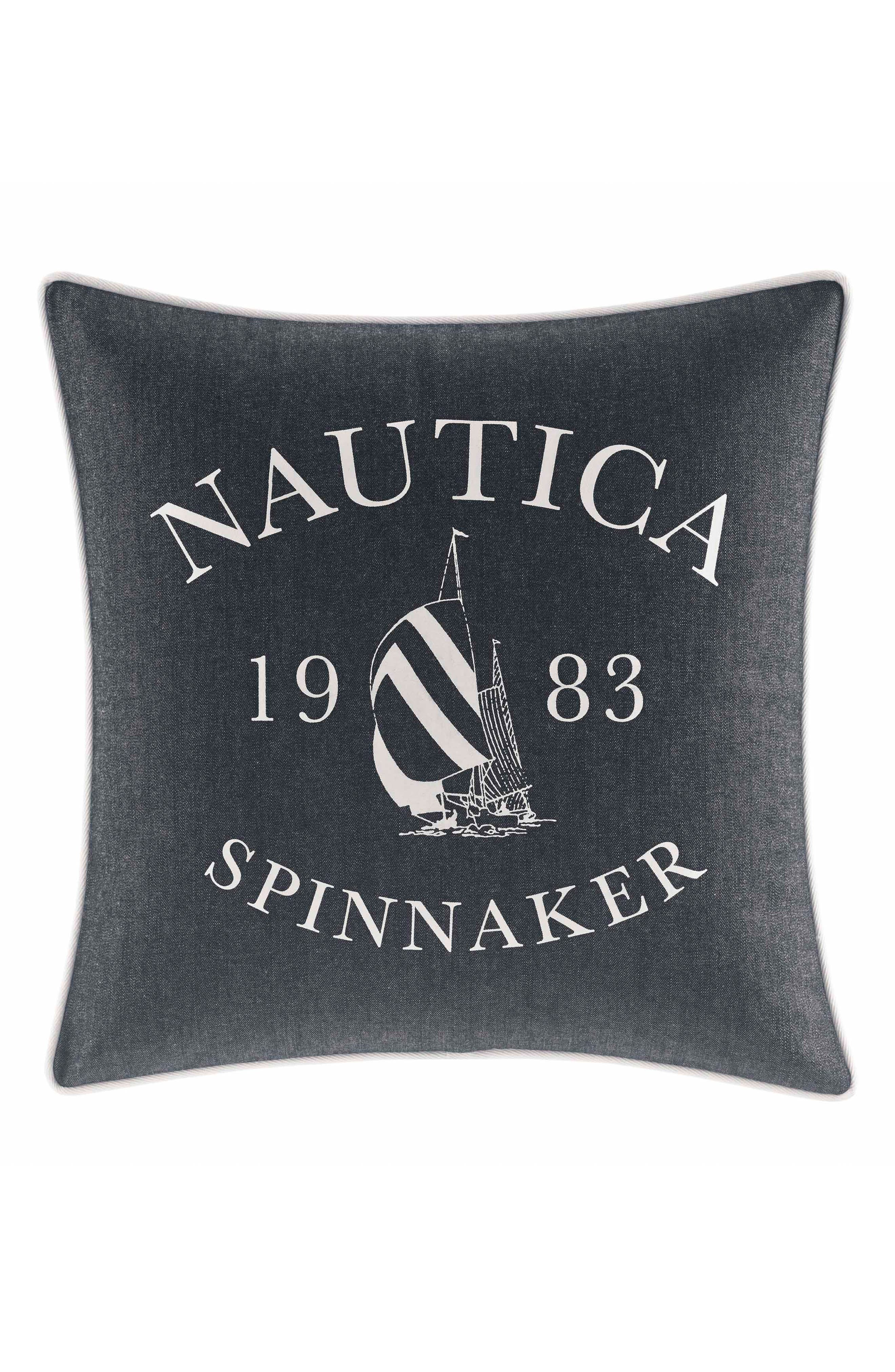 Alternate Image 1 Selected - Nautica Heritage Accent Pillow