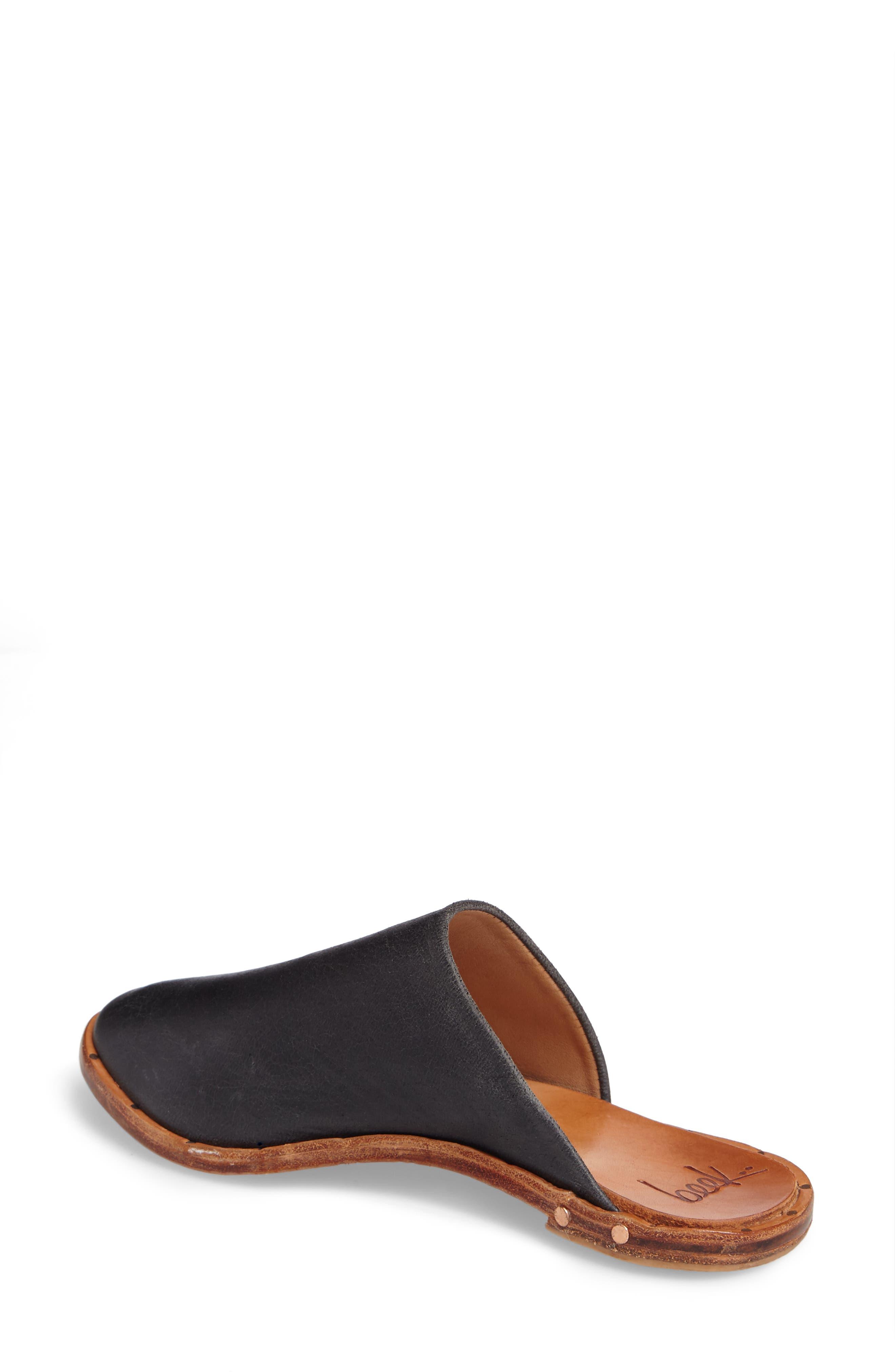 Seagull Mule,                             Alternate thumbnail 2, color,                             Vintage Black Leather