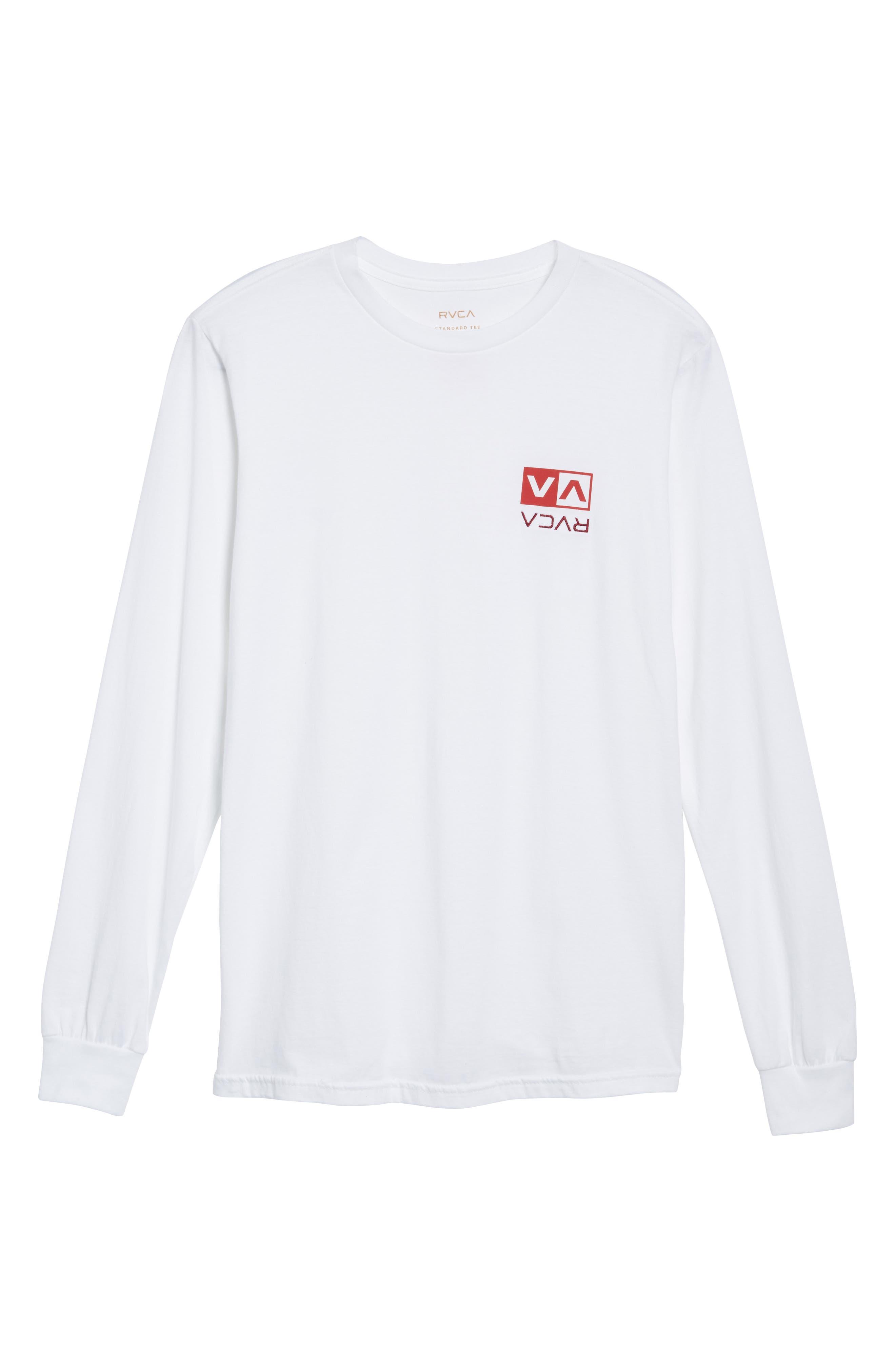 Alternate Image 6  - RVCA Flipped Box Graphic T-Shirt