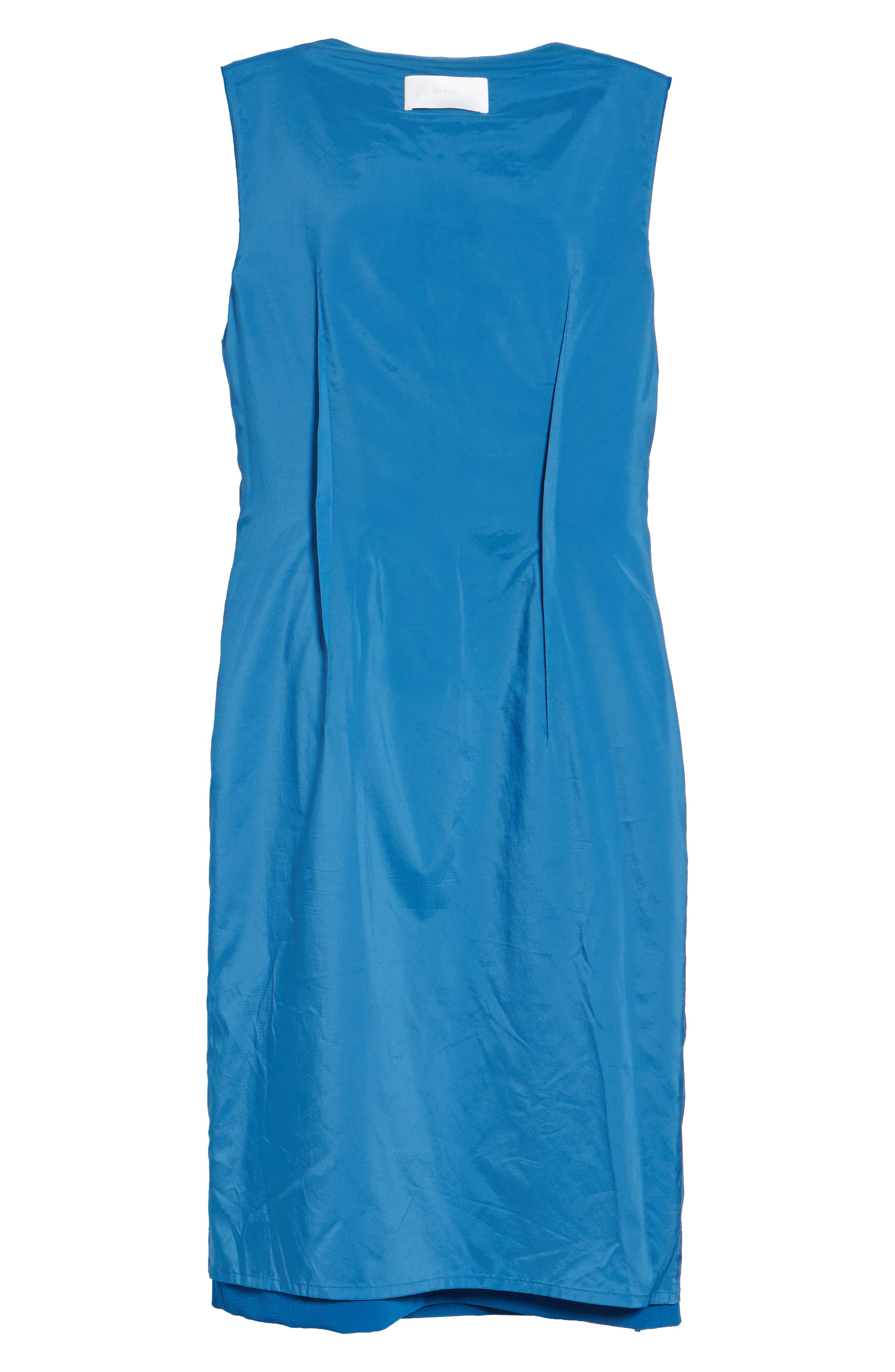Alternate Image 6  - Boss Danafea Zip Detail Sheath Dress (Nordstrom Exclusive)