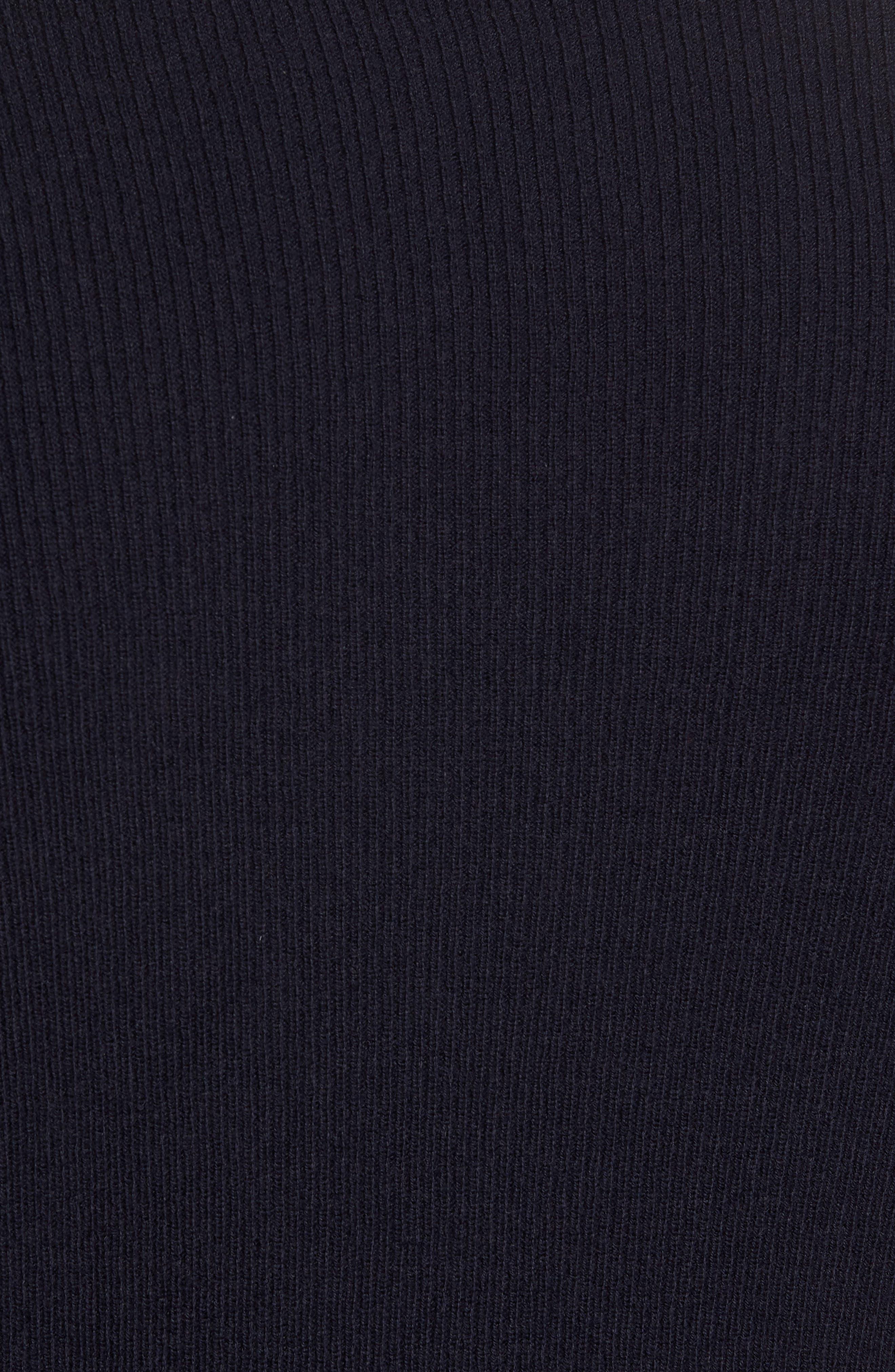 Colorblock Crewneck Sweater,                             Alternate thumbnail 6, color,                             Navy