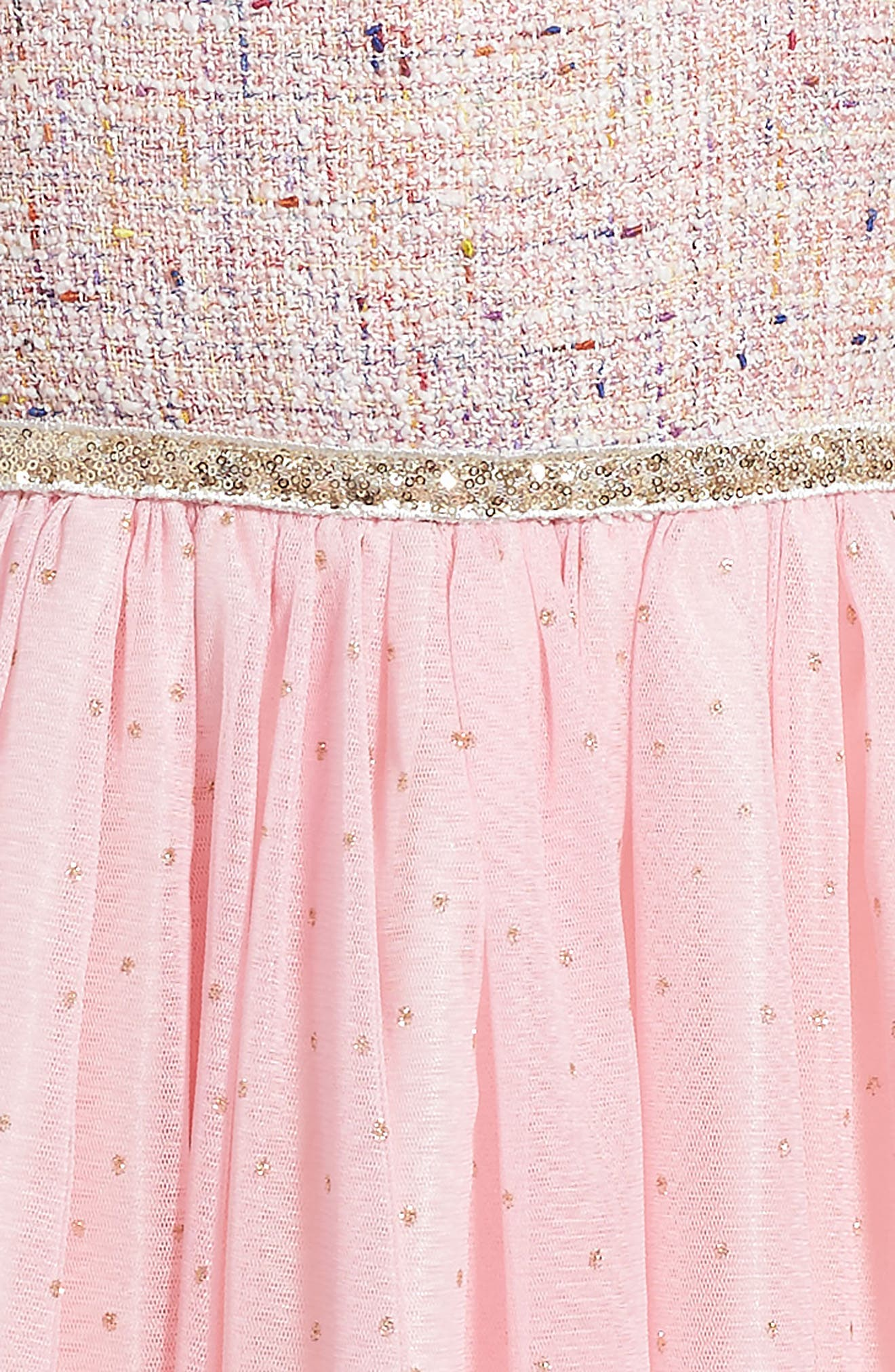 Samantha Dress,                             Alternate thumbnail 3, color,                             Pink