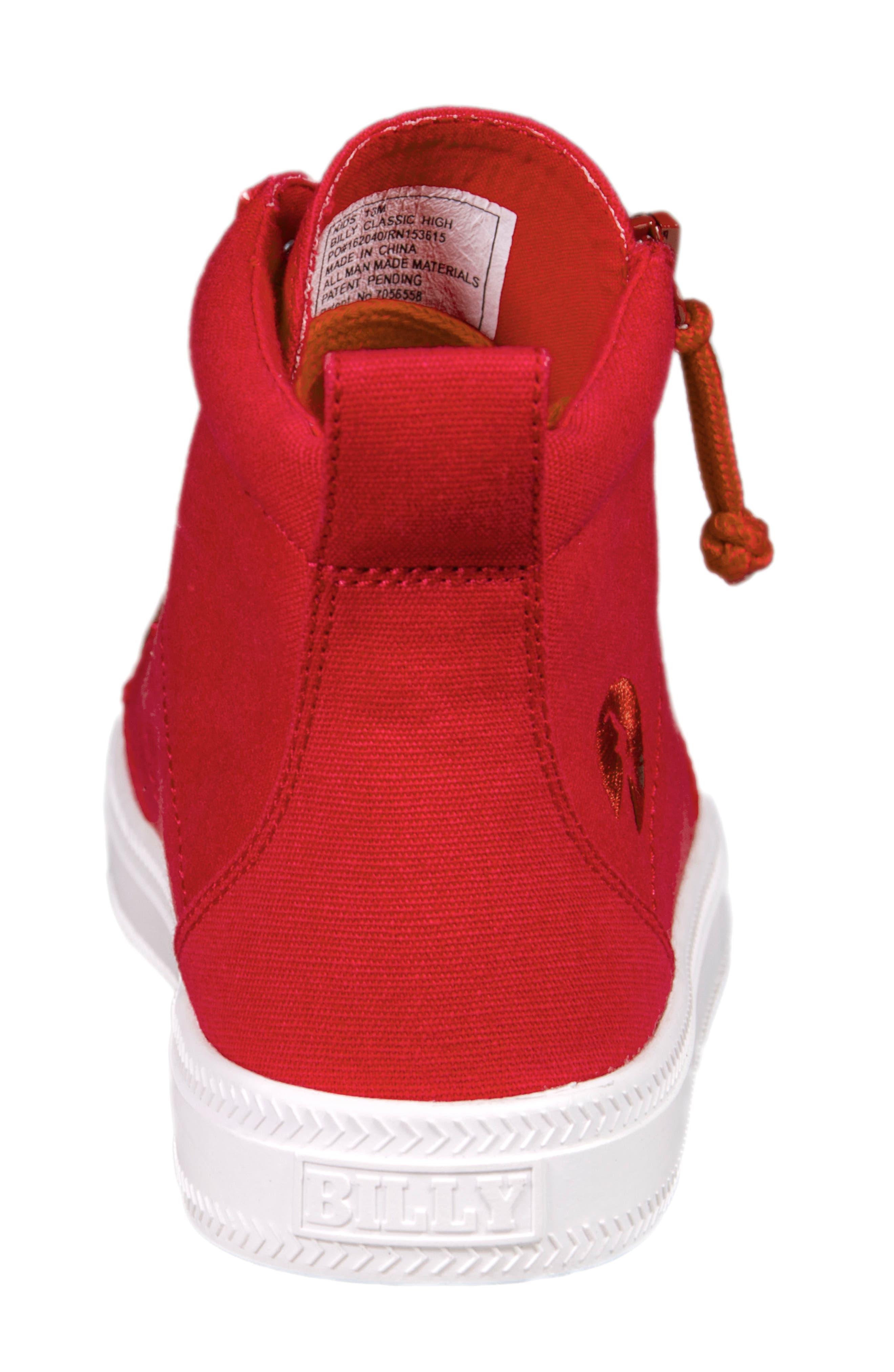 Alternate Image 6  - BILLY Footwear Zip Around High Top Sneaker (Toddler, Little Kid & Big Kid)