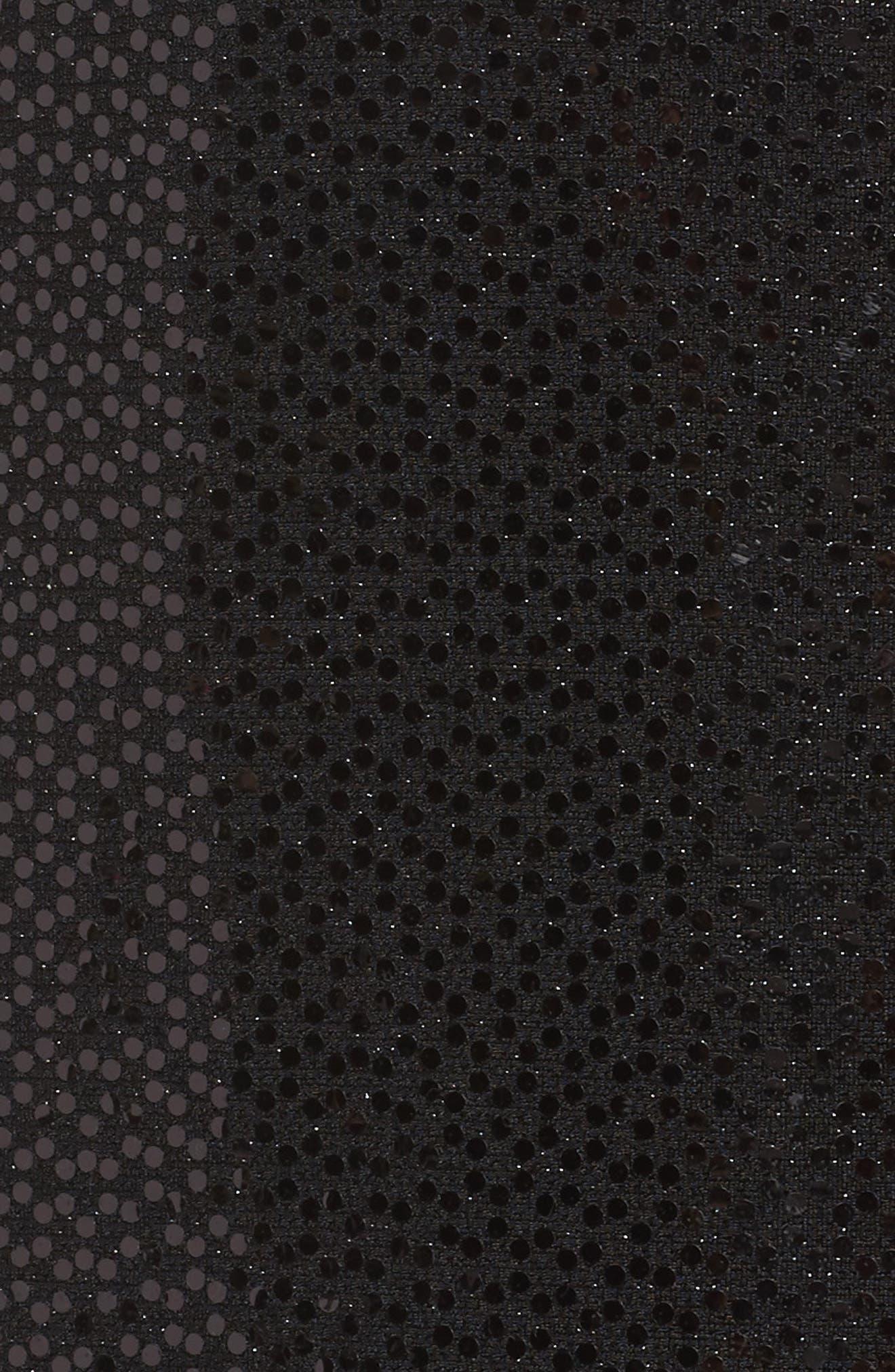 Alternate Image 5  - Alex Evenings Sequin Knit Twinset (Plus Size)