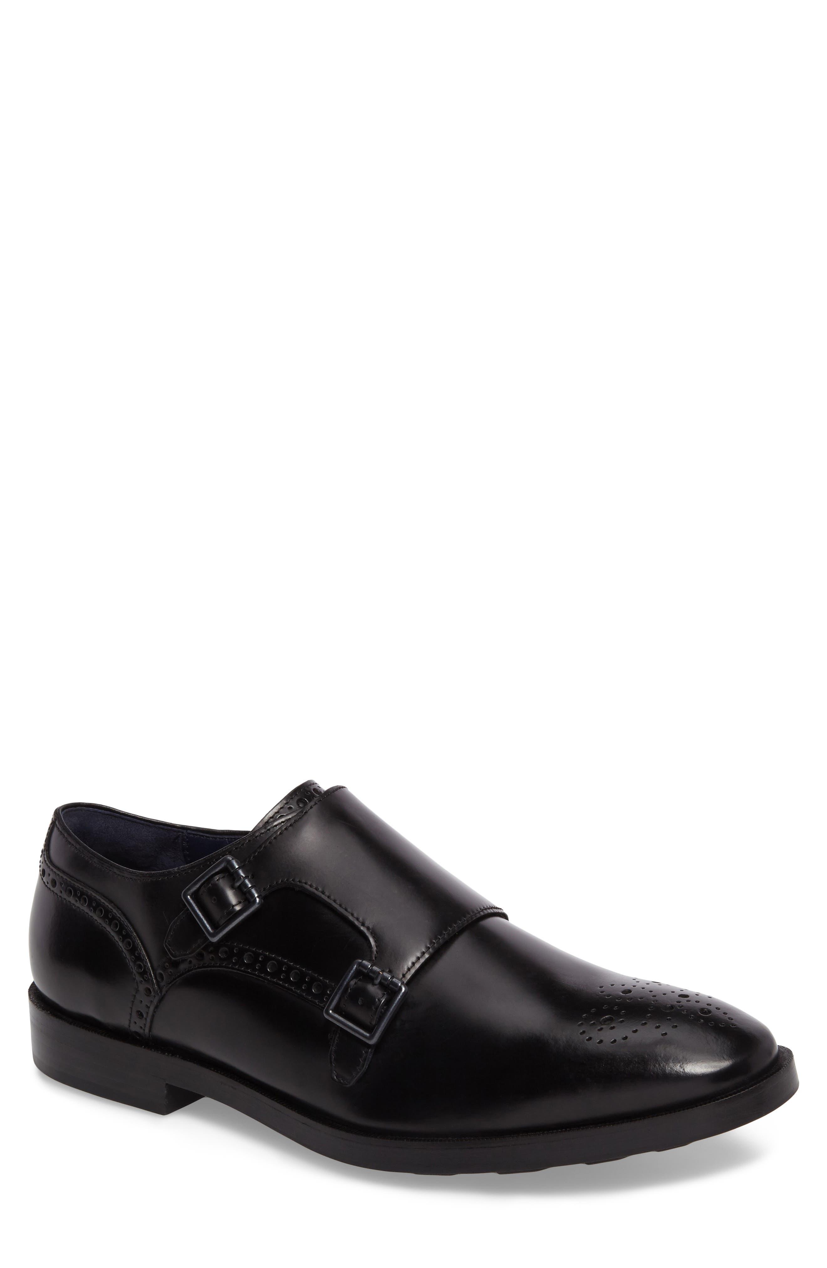 Alternate Image 1 Selected - Cole Haan Hamilton Double Monk Strap Shoe (Men)