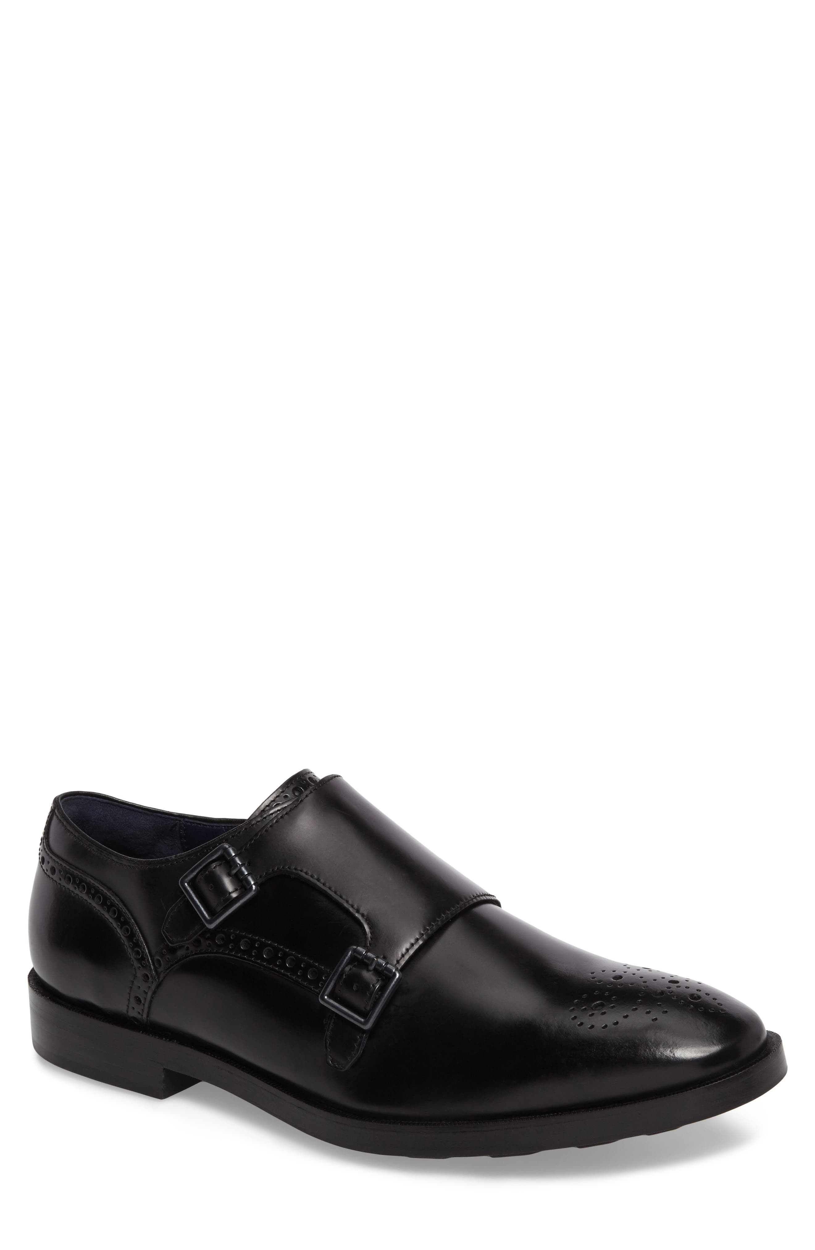 Main Image - Cole Haan Hamilton Double Monk Strap Shoe (Men)