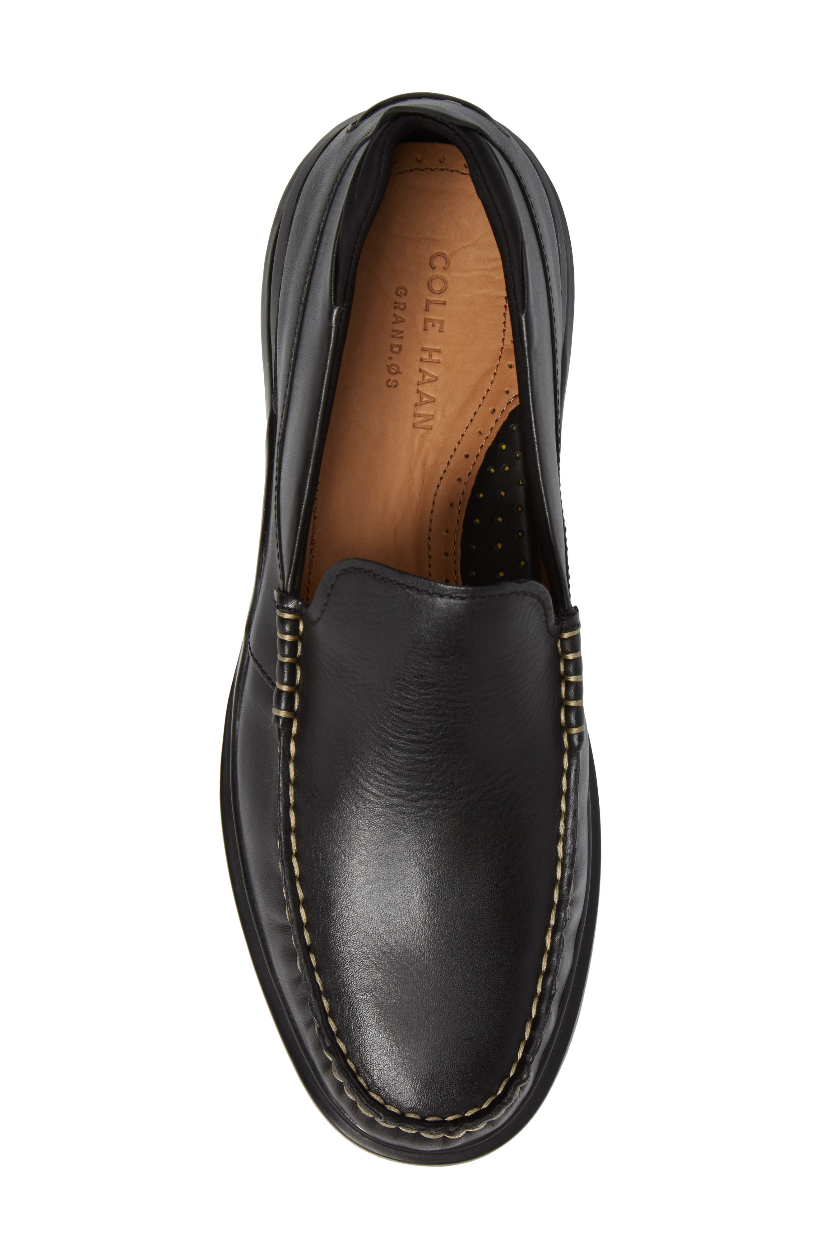 Bancroft Loafer,                             Alternate thumbnail 5, color,                             Black