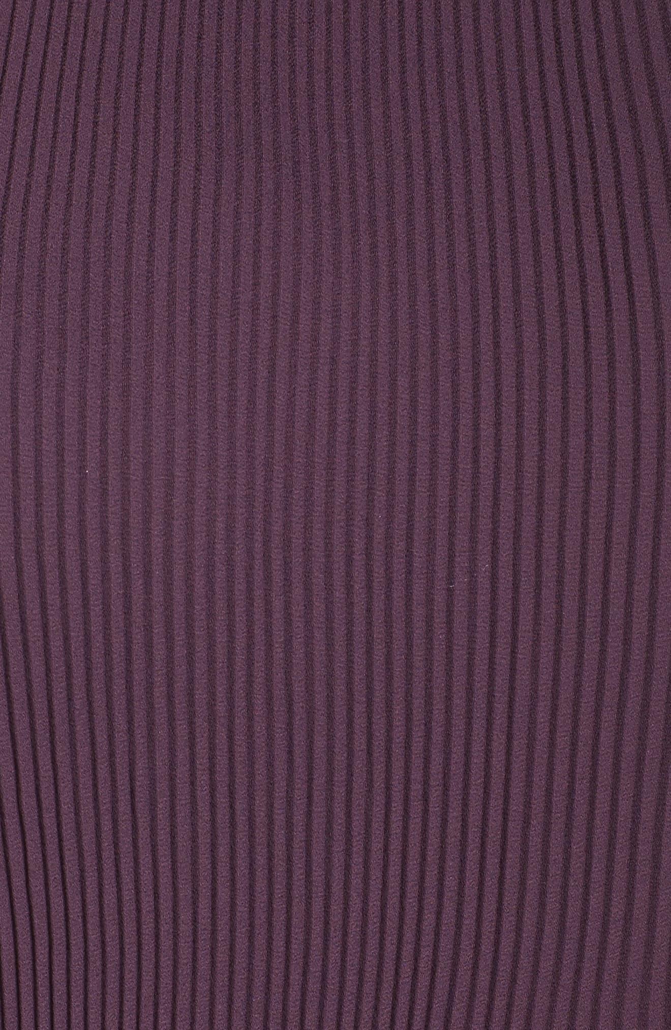 Alternate Image 5  - Sejour Pleat Shell (Plus Size)