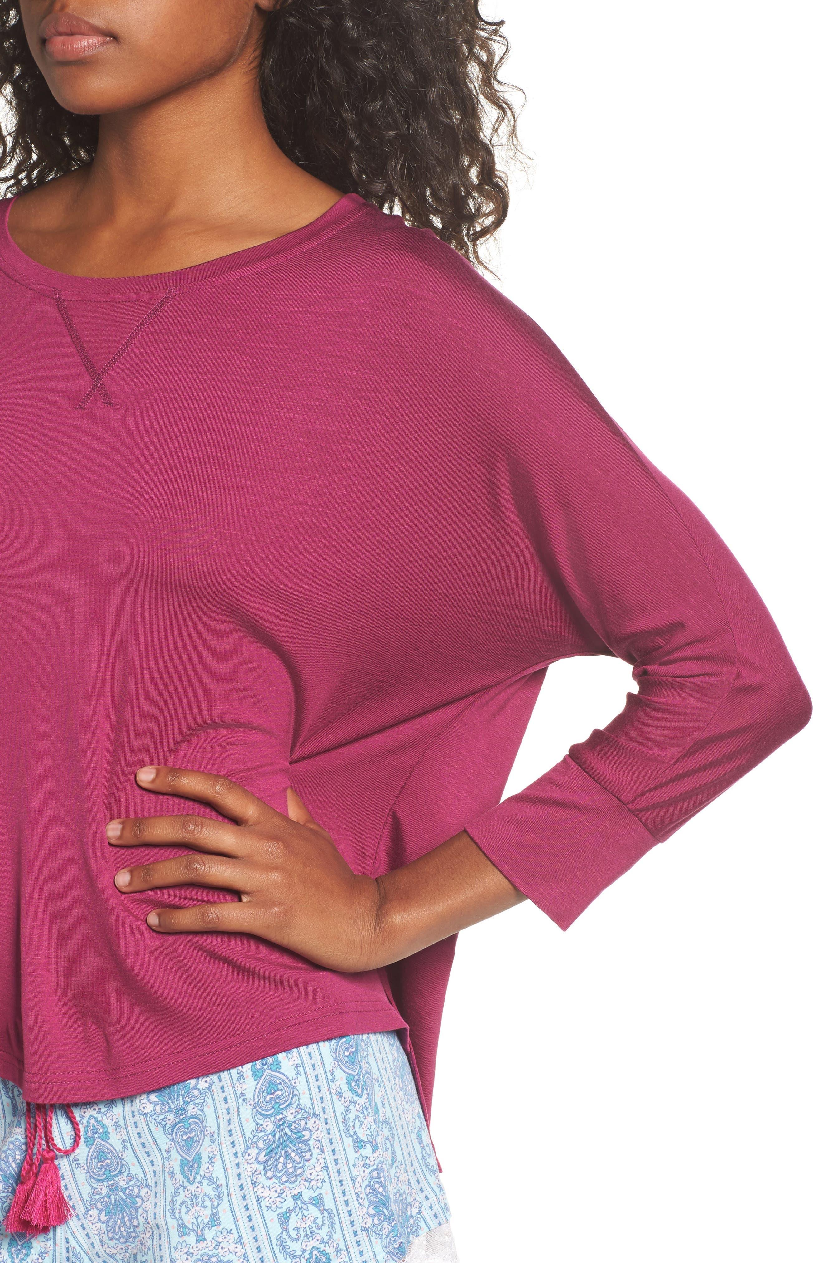 Honeydew Short Pajamas,                             Alternate thumbnail 5, color,                             Tuscany