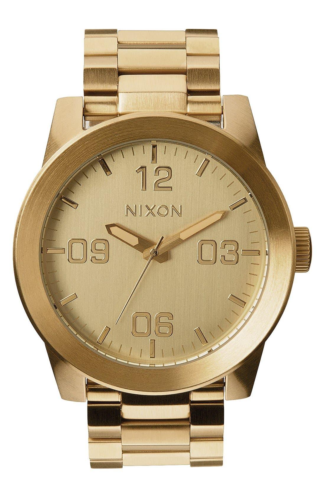 Часы Nixon оранжевые Москва - zoompostru