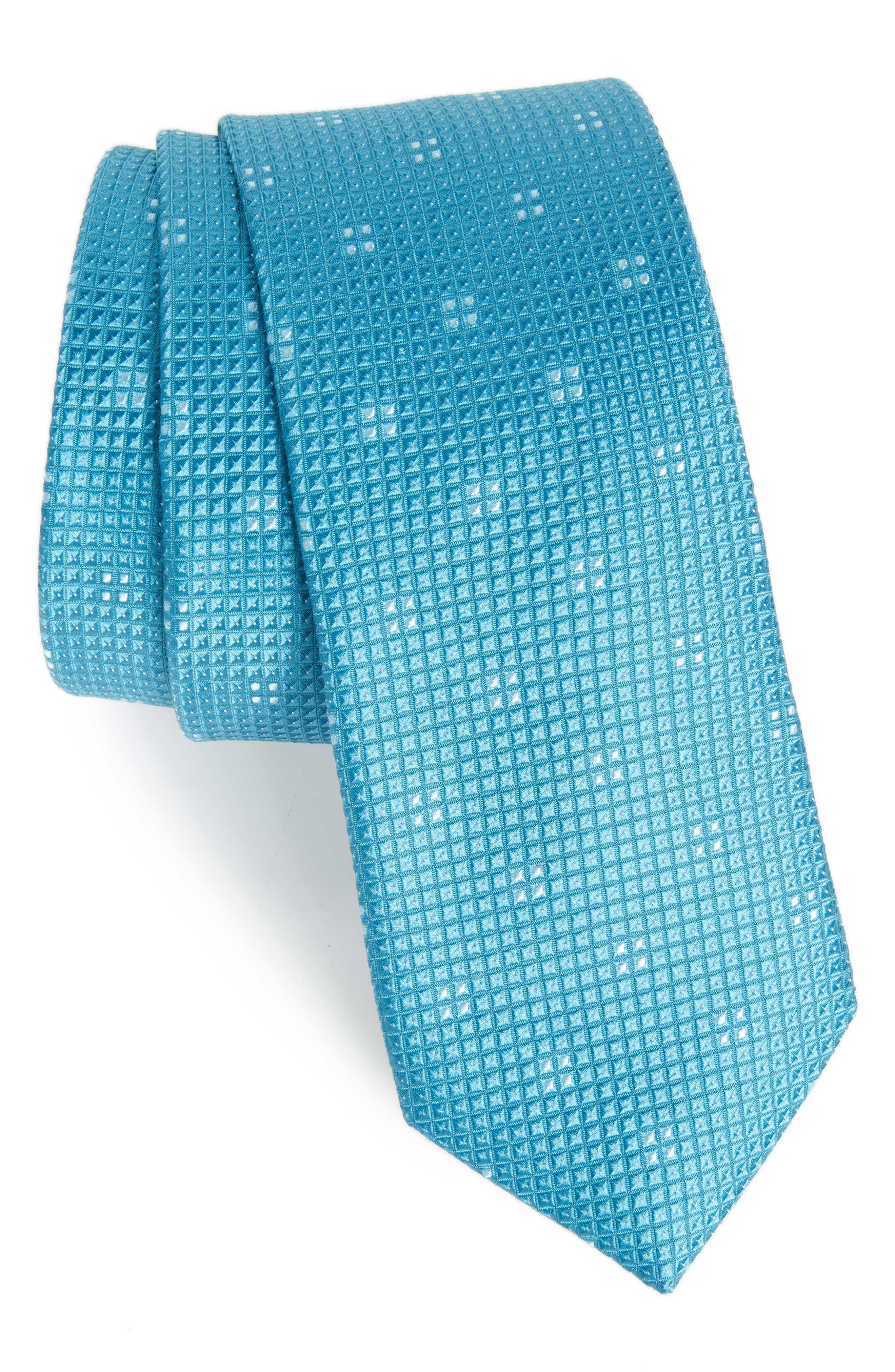 Main Image - Calibrate Classic Neat Silk Tie